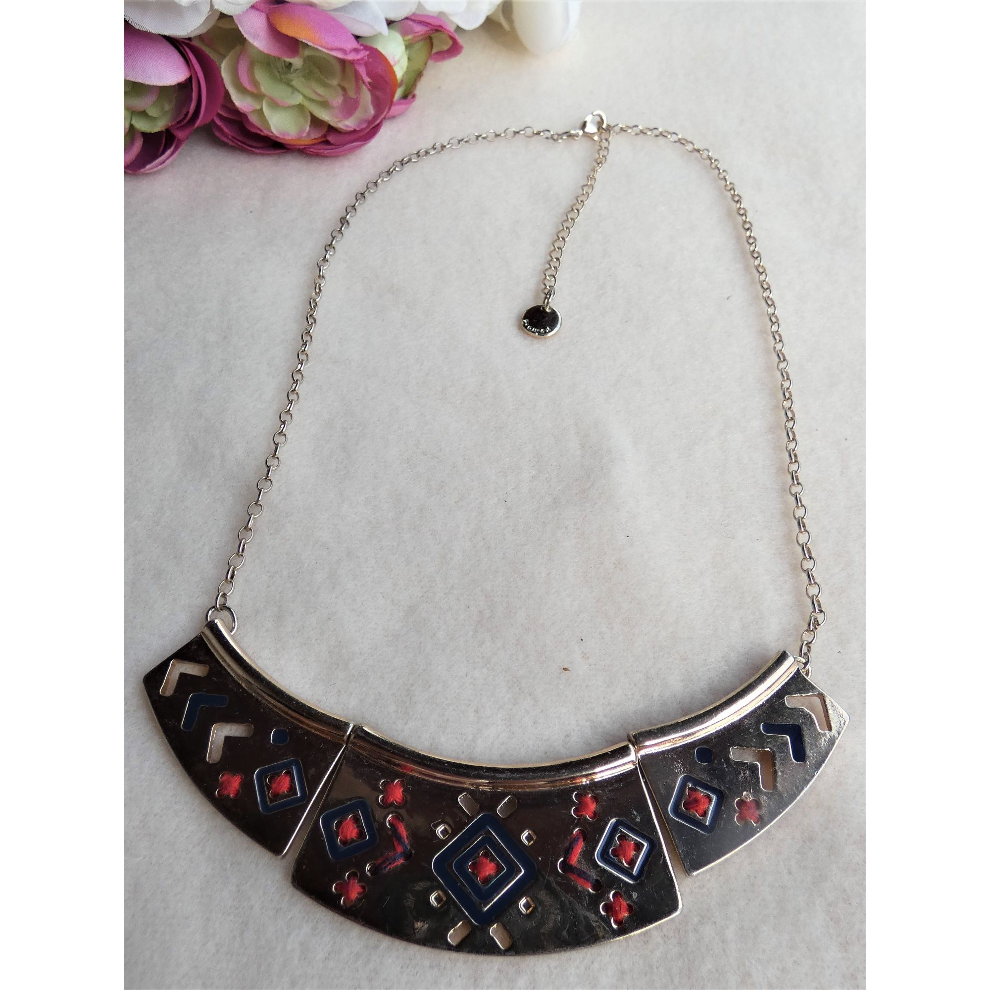 Long Necklace NO COLLECTION Golden, bronze, copper