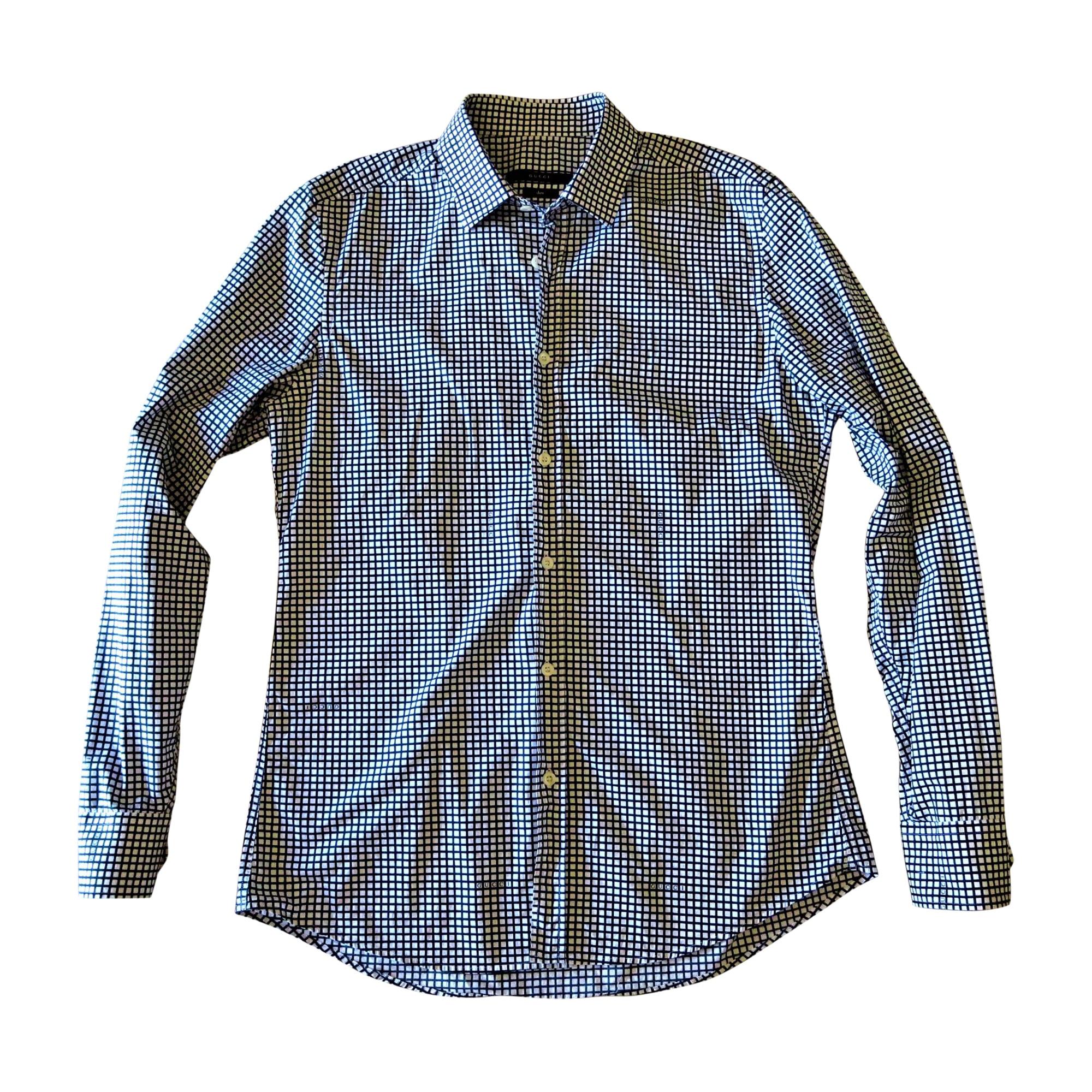 Shirt GUCCI White, off-white, ecru