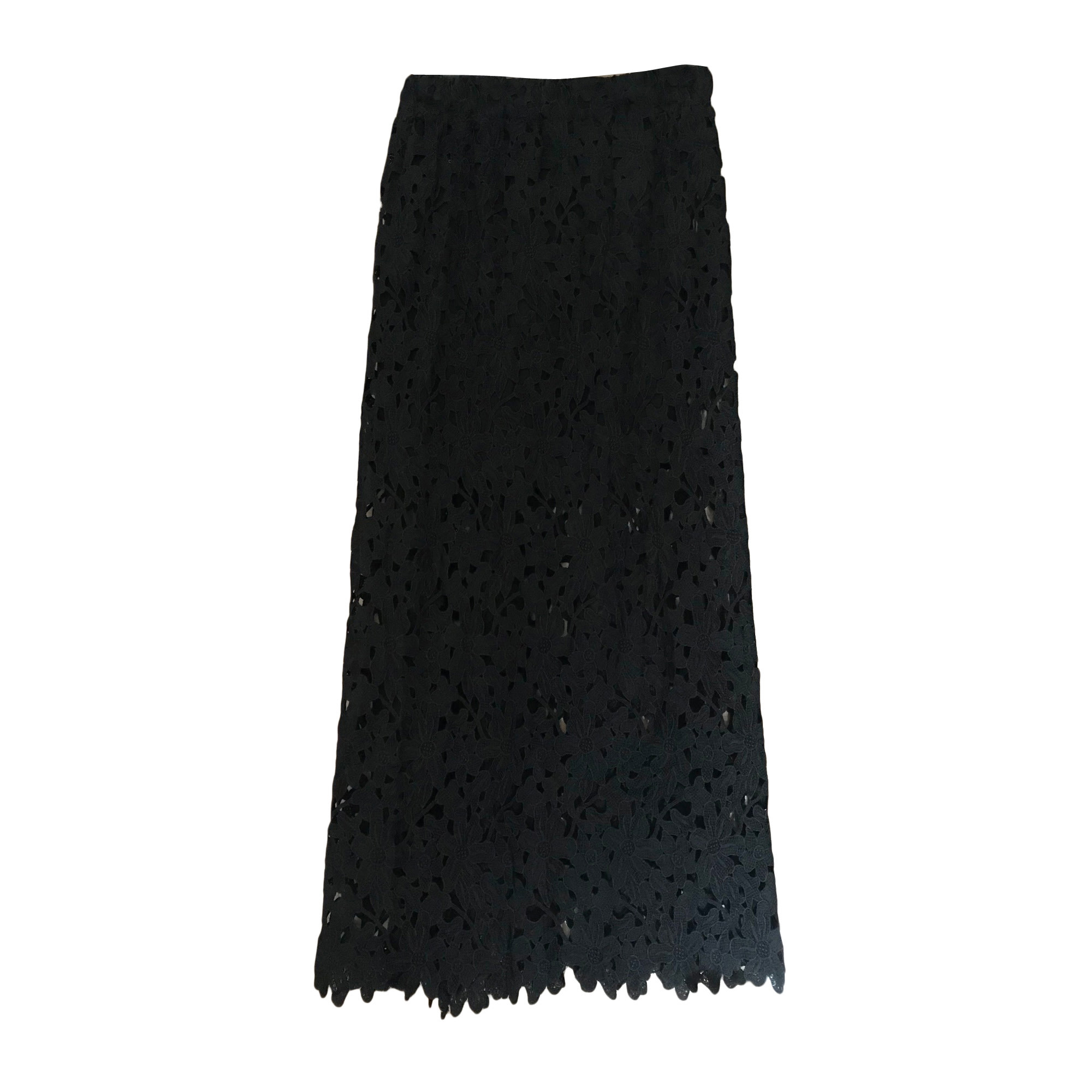 Jupe longue BEL AIR Noir