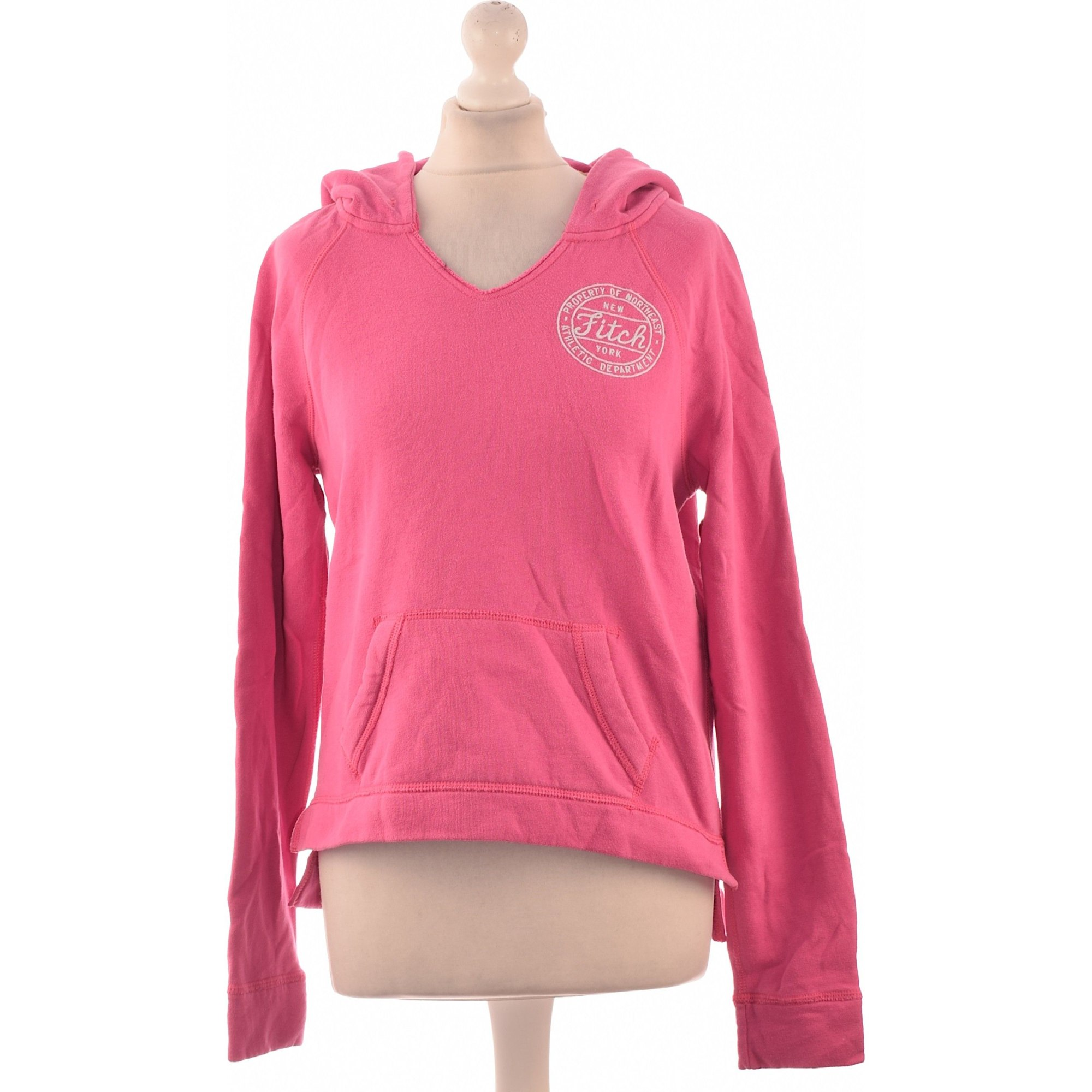 Sweat ABERCROMBIE & FITCH Rose, fuschia, vieux rose