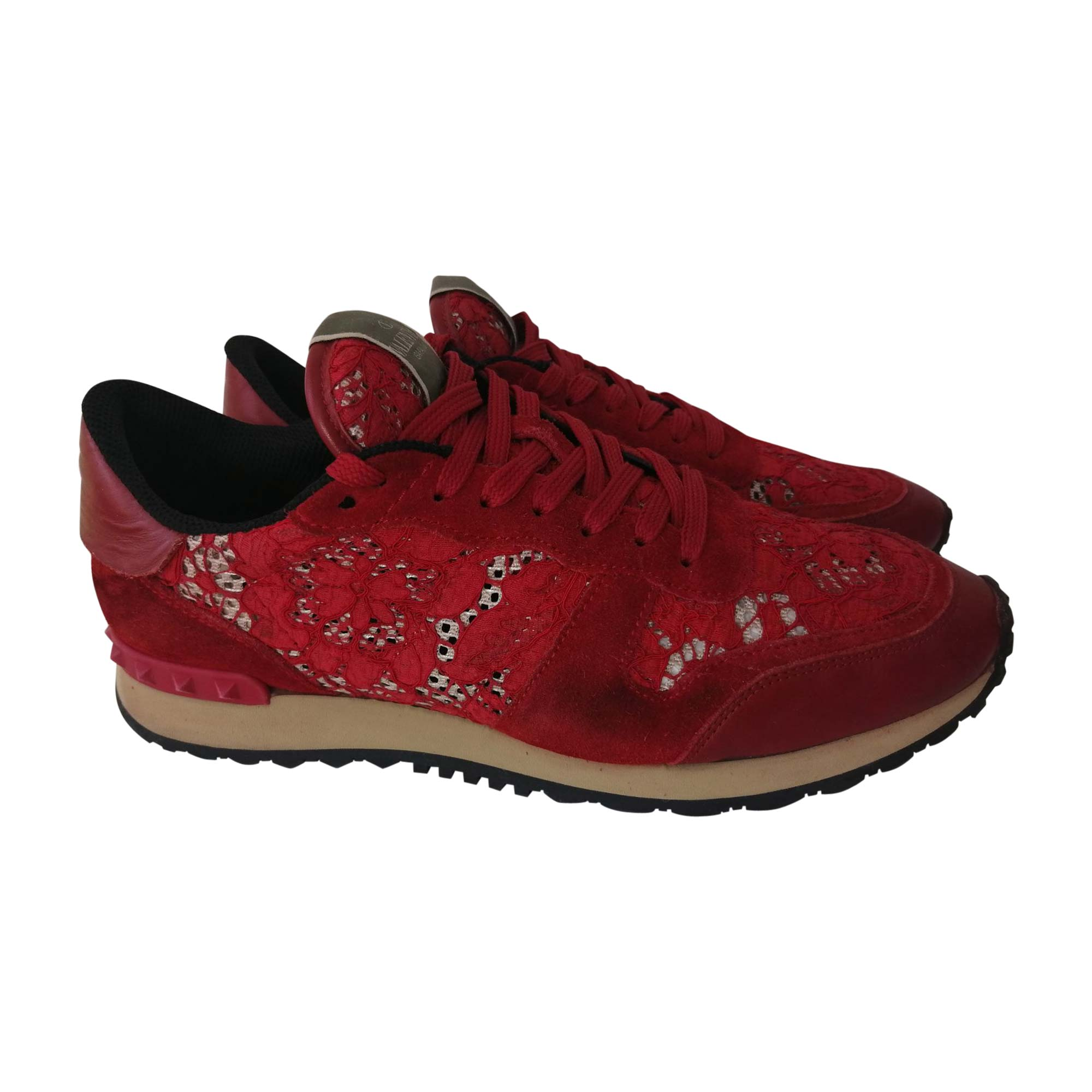 Sneakers VALENTINO Red, burgundy