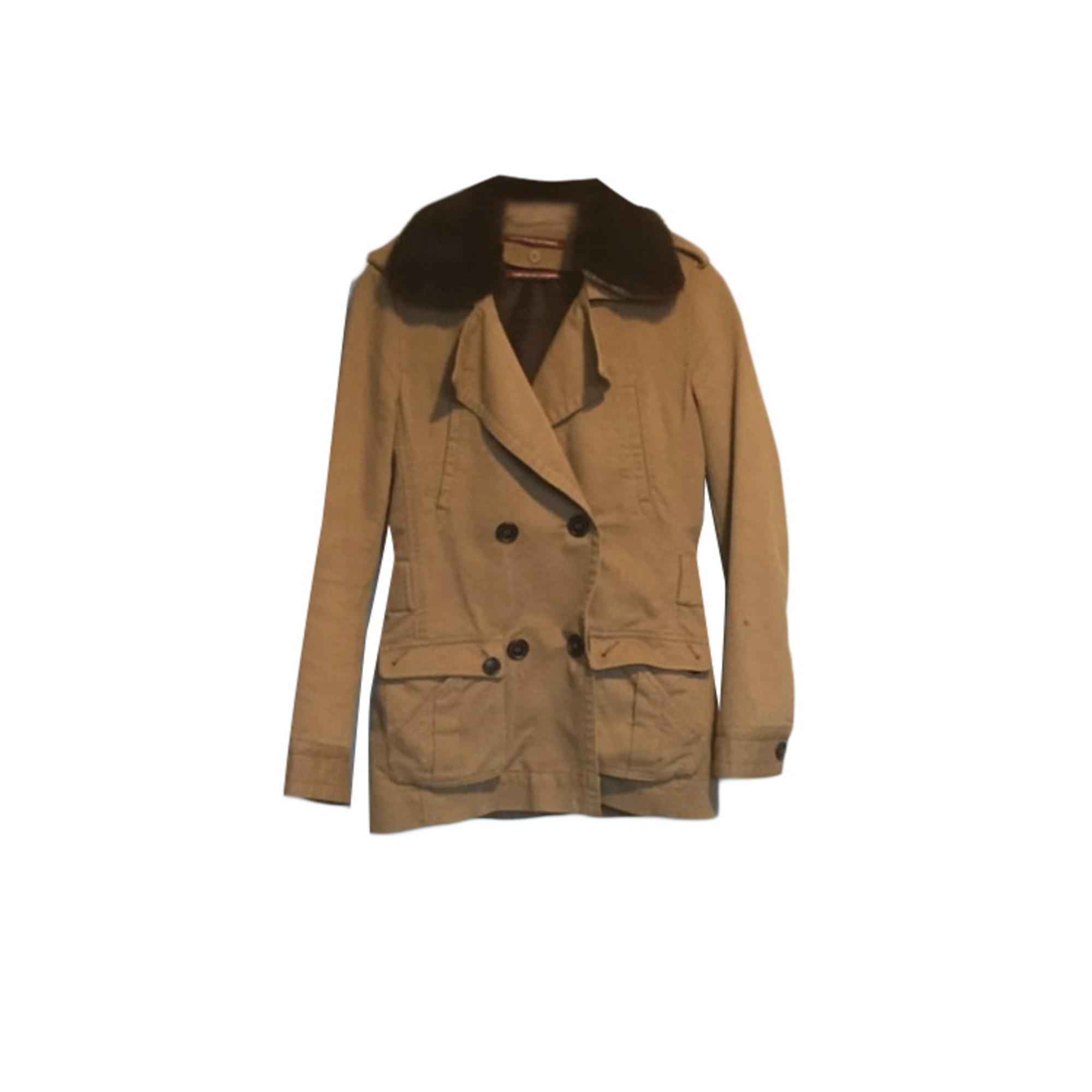 Coat COMPTOIR DES COTONNIERS Beige, camel