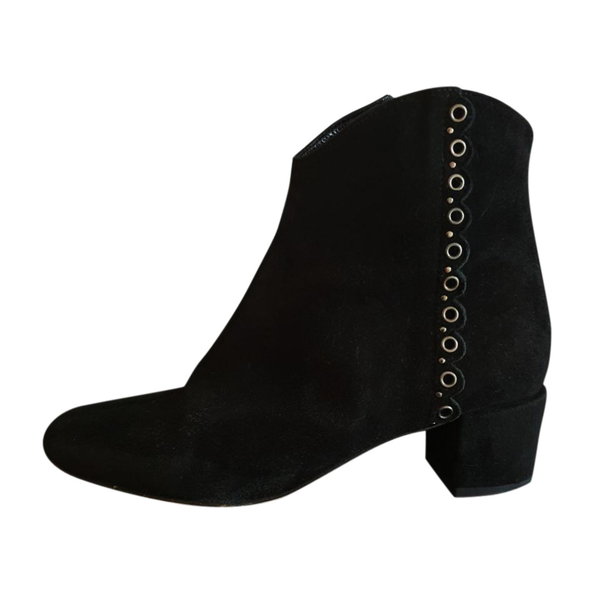 Bottines & low boots plates VANESSA BRUNO Noir