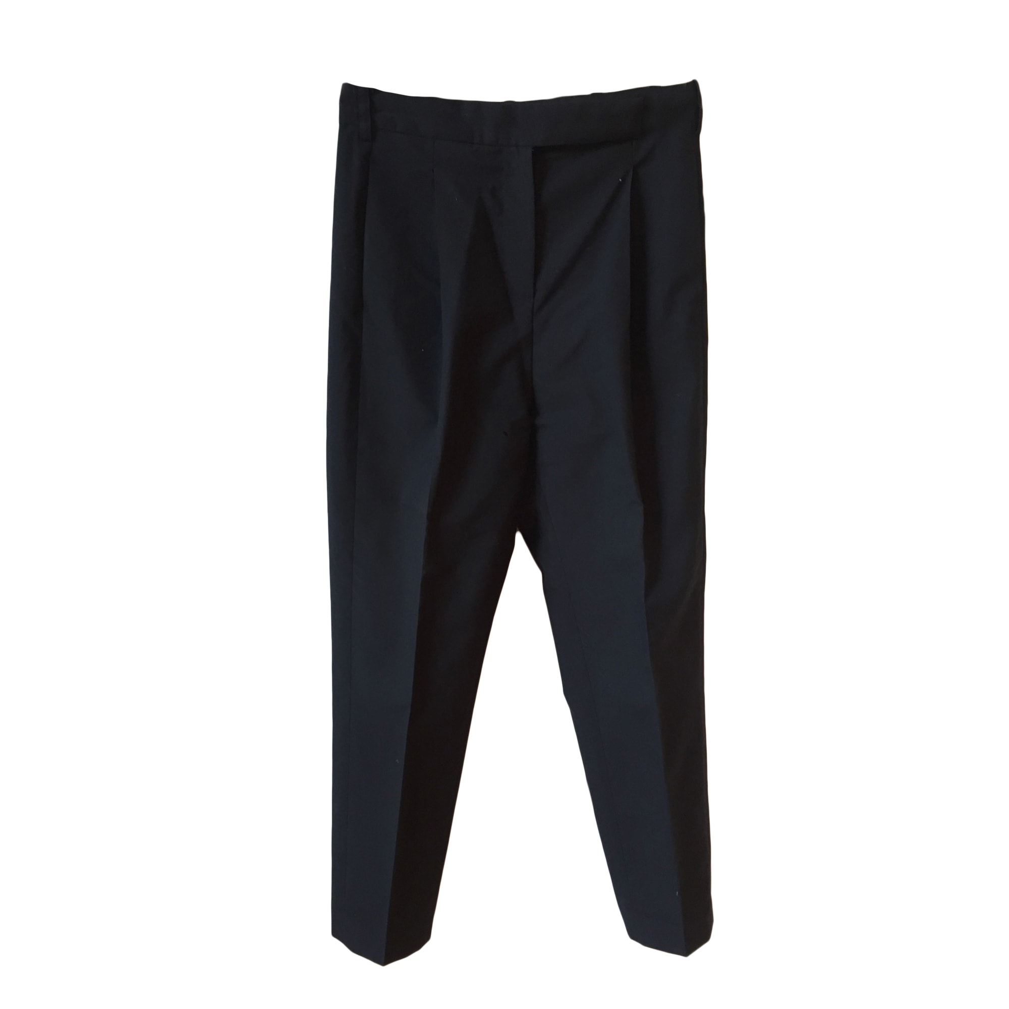 Straight Leg Pants GOLDEN GOOSE Black