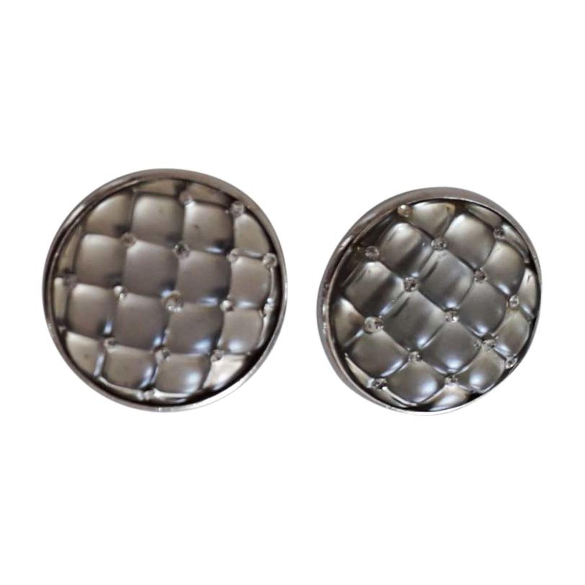 Earrings SONIA RYKIEL argenté et tanslucide