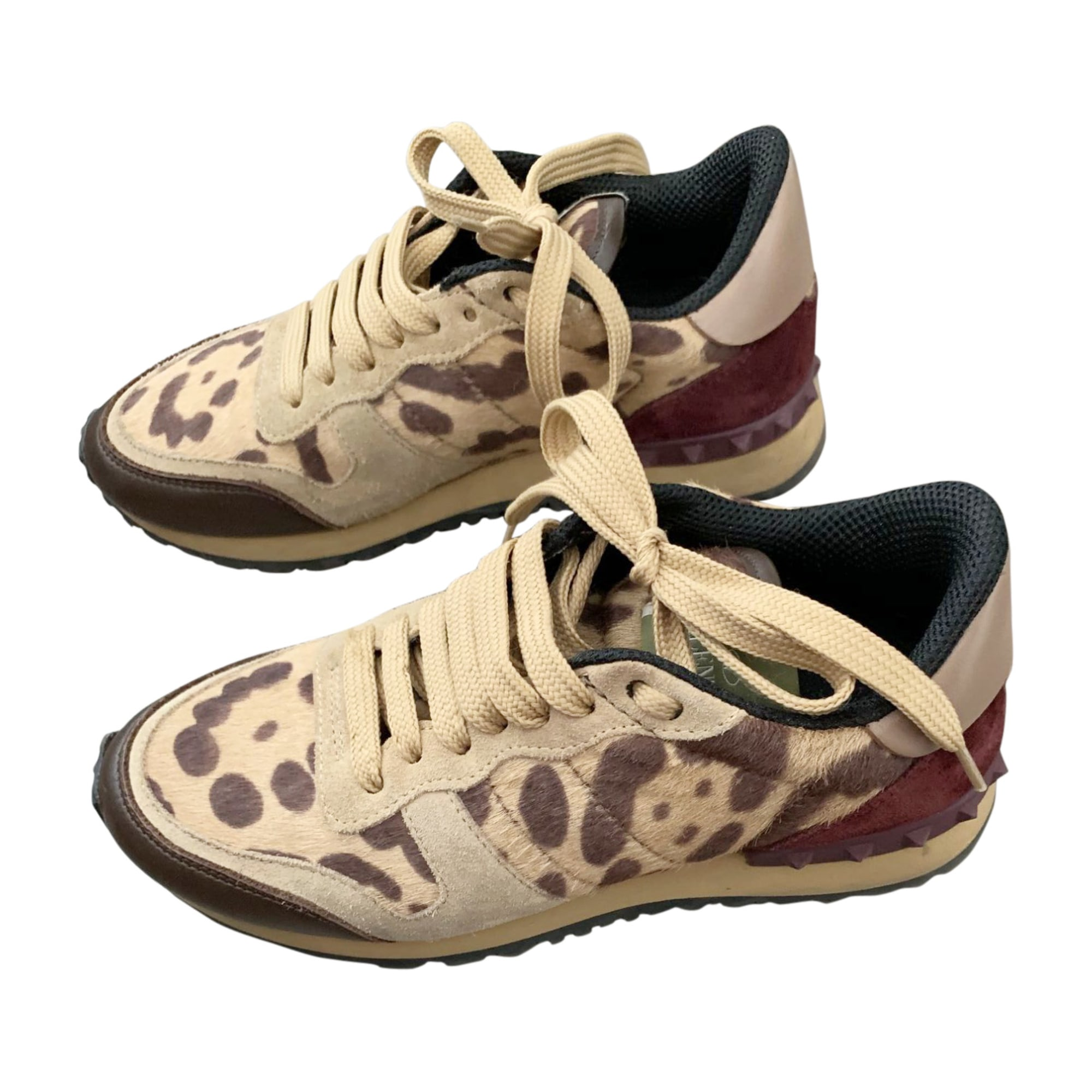 Sneakers VALENTINO Rockstud Animal prints