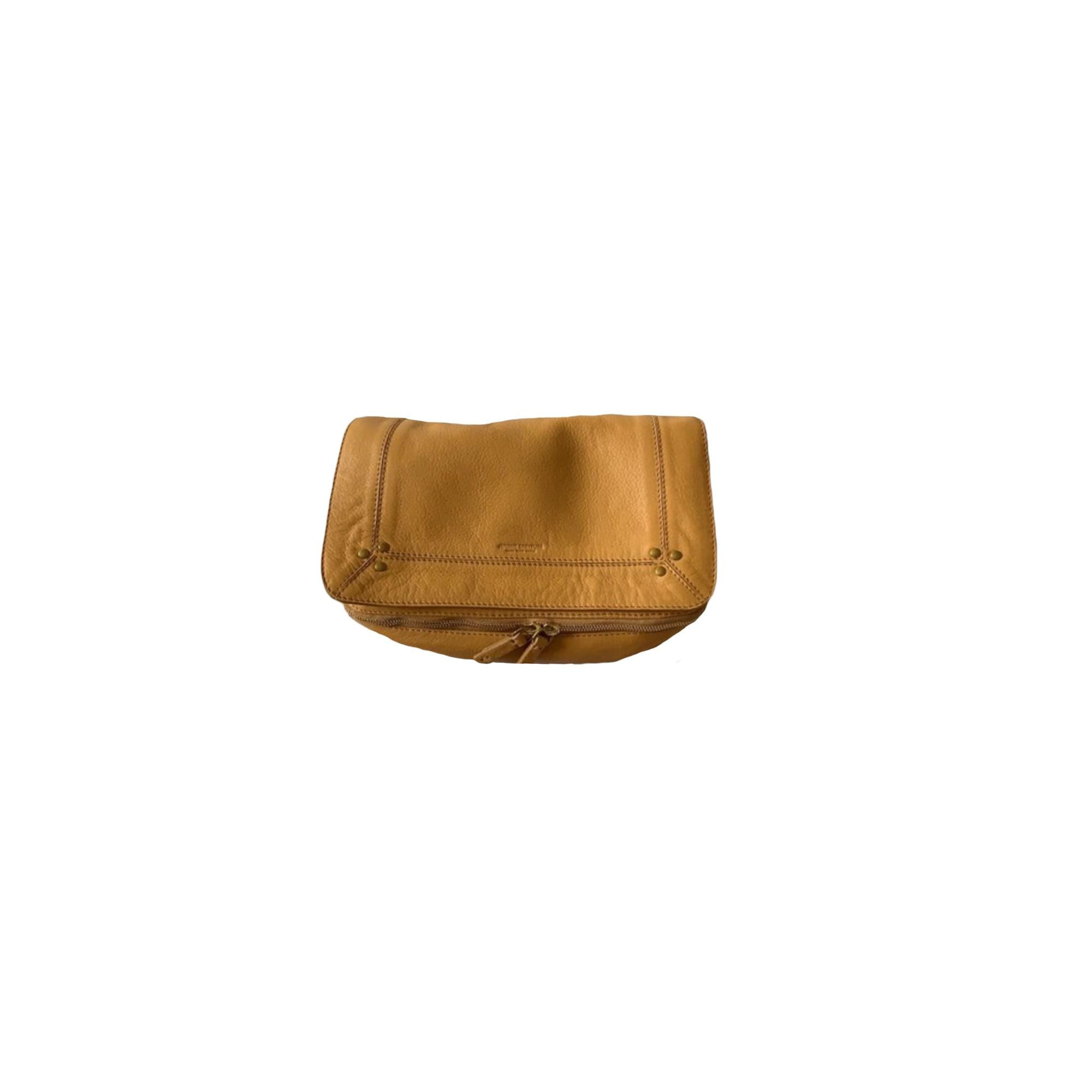 Leather Shoulder Bag JEROME DREYFUSS Silver