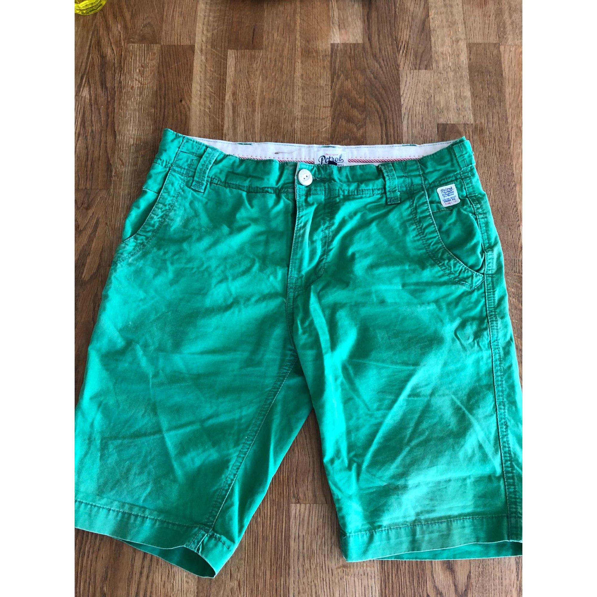 Bermuda Shorts PETROL INDUSTRIES Green