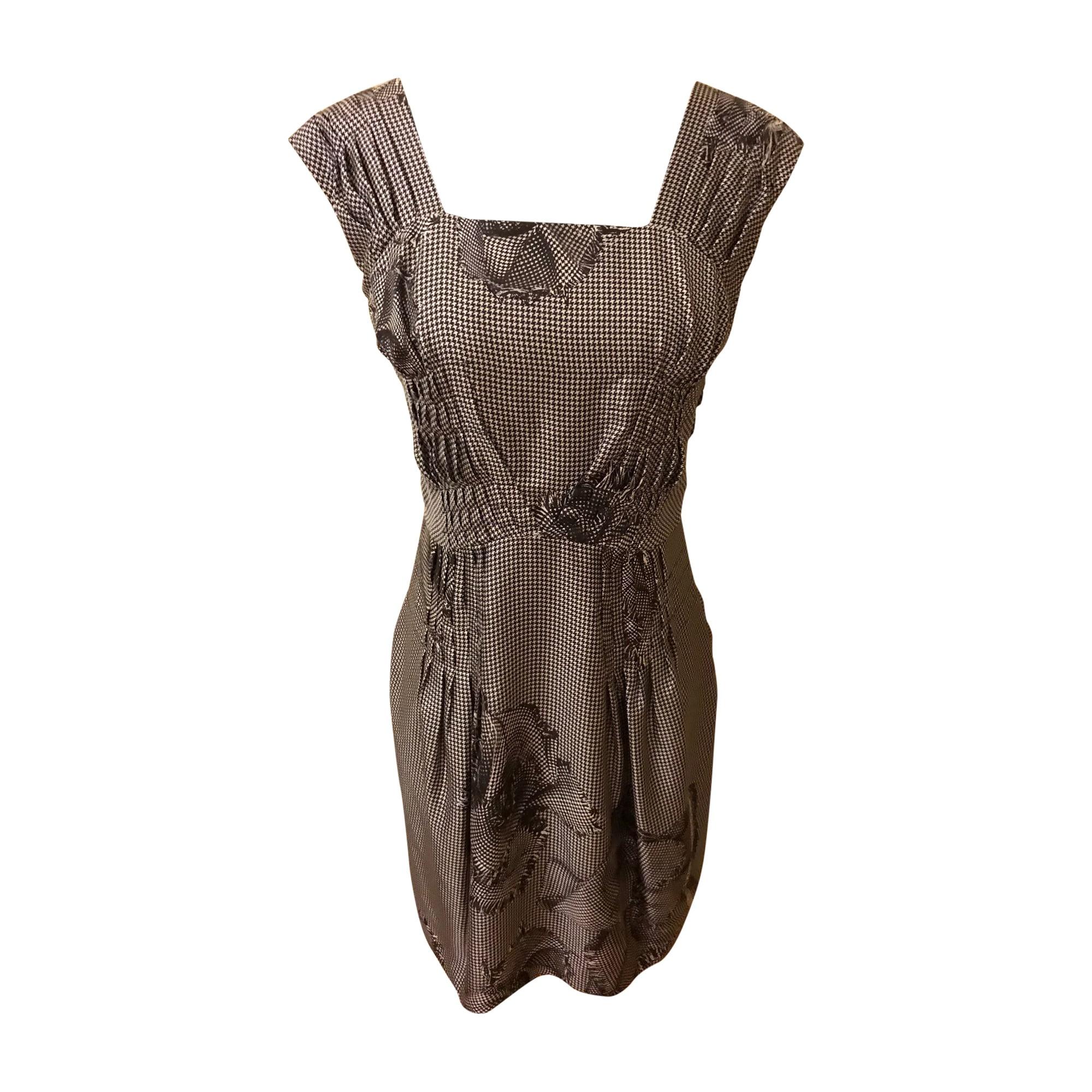 Midi Dress DIOR Gray, charcoal