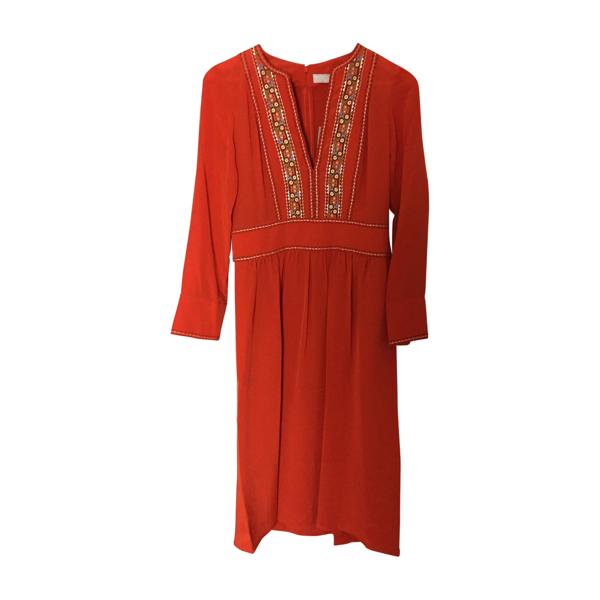 Midi Dress VANESSA BRUNO Orange
