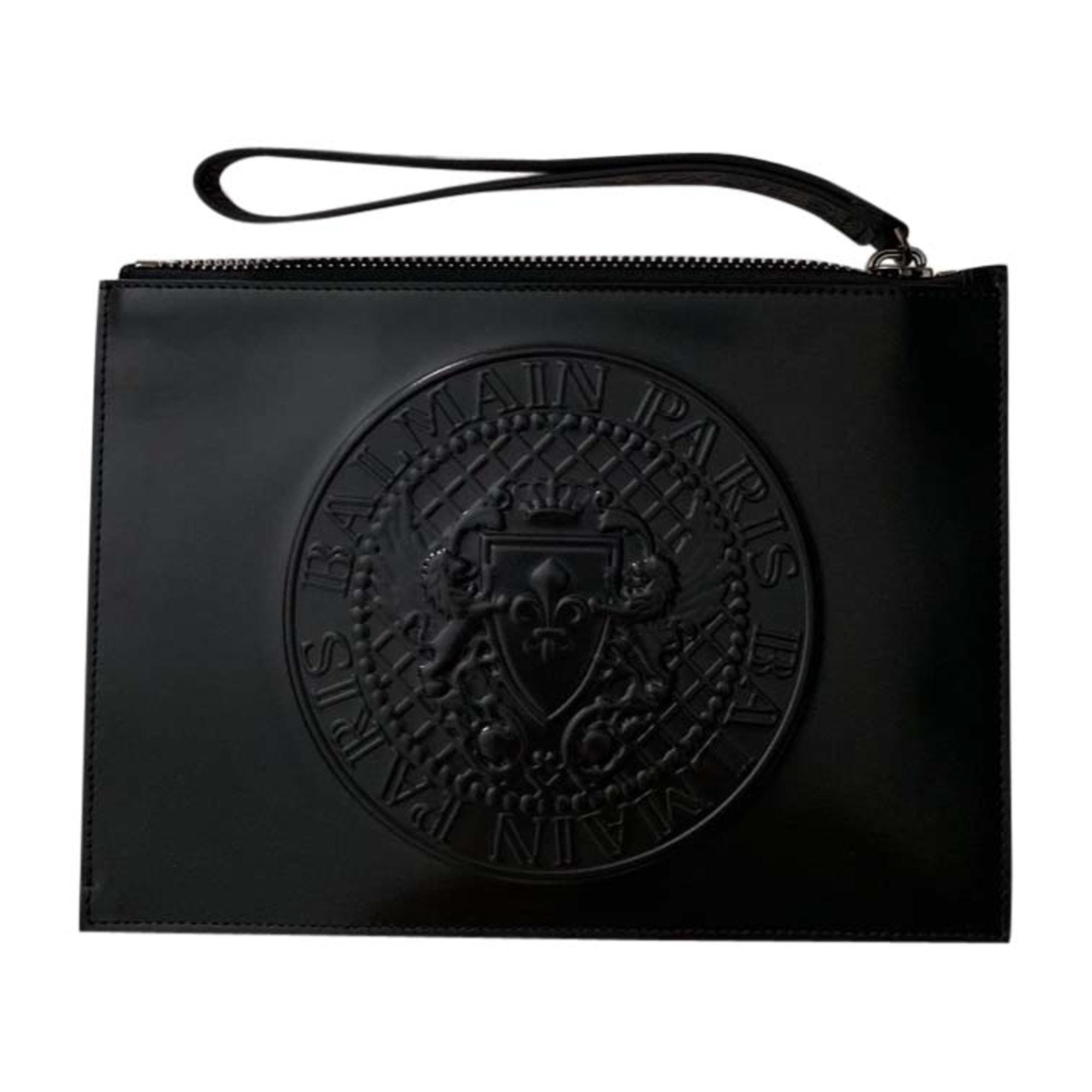 Porte document, serviette BALMAIN Noir