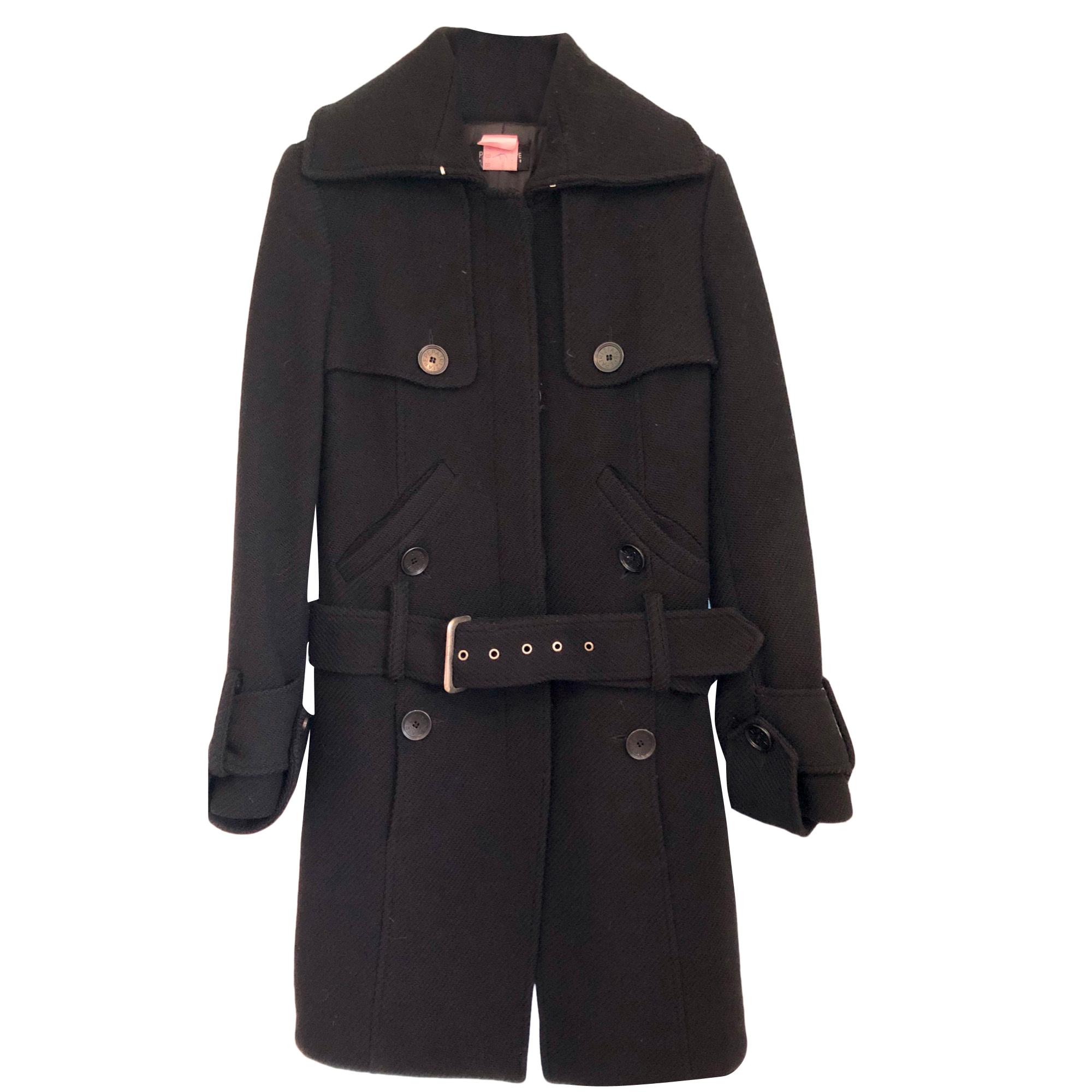 Coat PATRIZIA PEPE Black