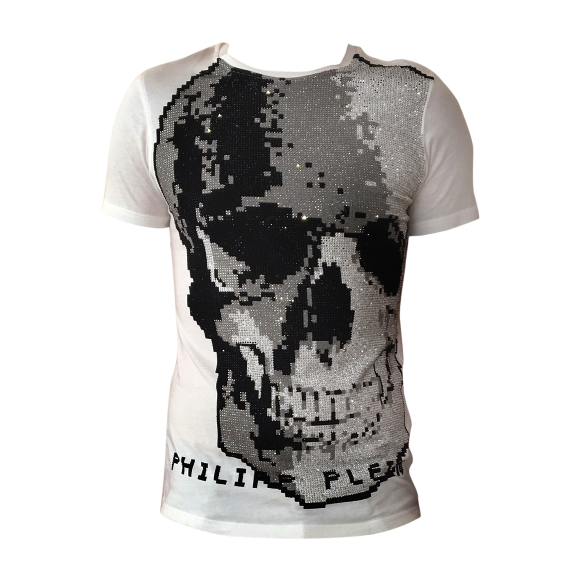 T-shirt PHILIPP PLEIN White, off-white, ecru
