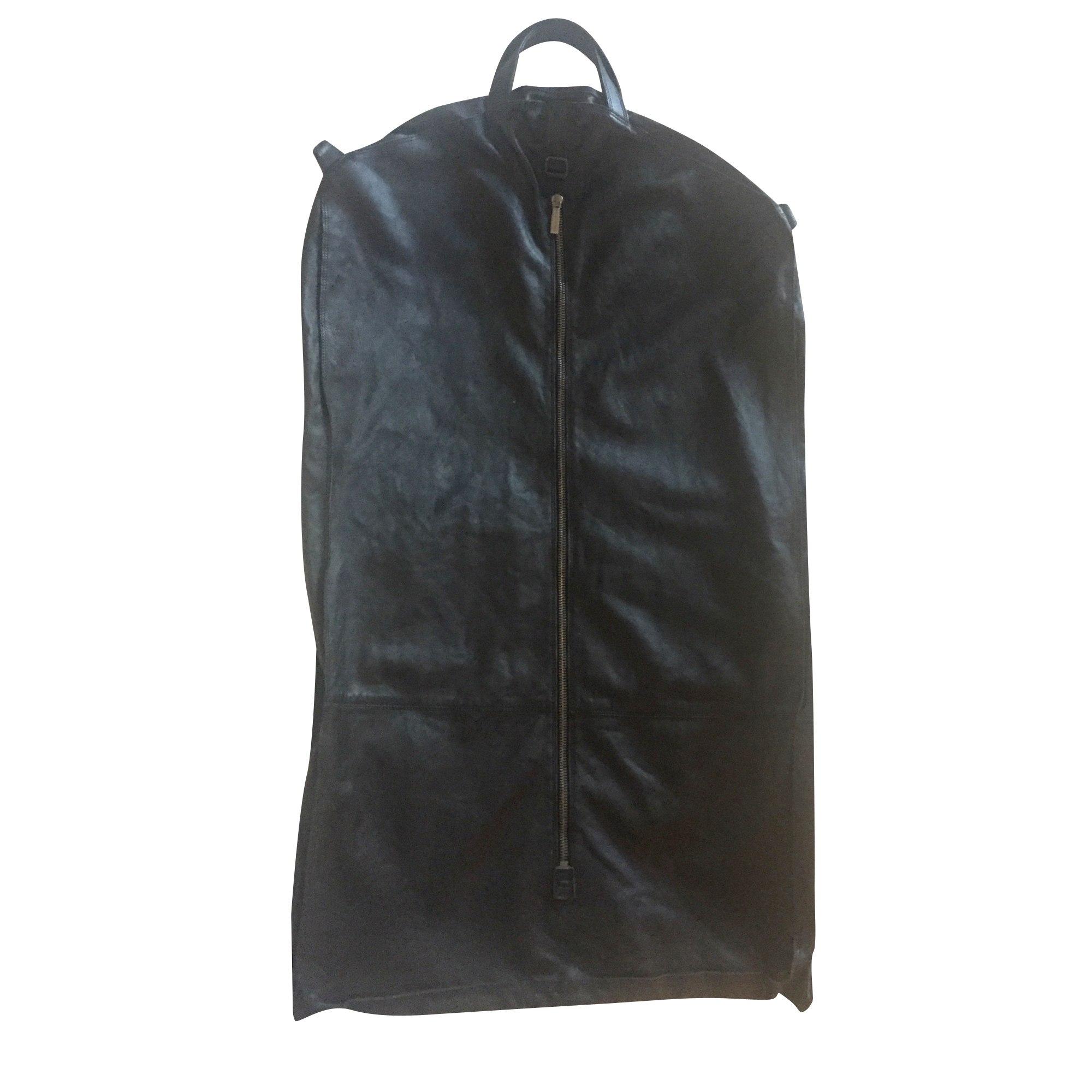 Cabas ERMENEGILDO ZEGNA cuir noir