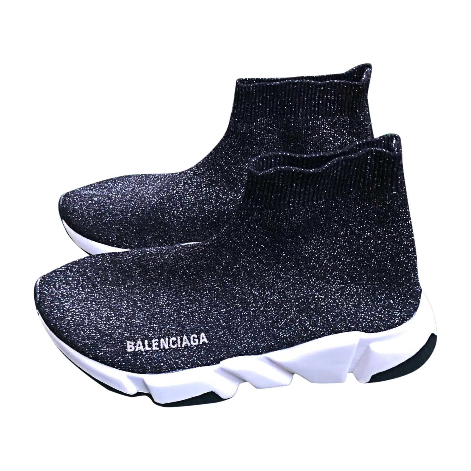 Sneakers BALENCIAGA Silberfarben, stahlfarben