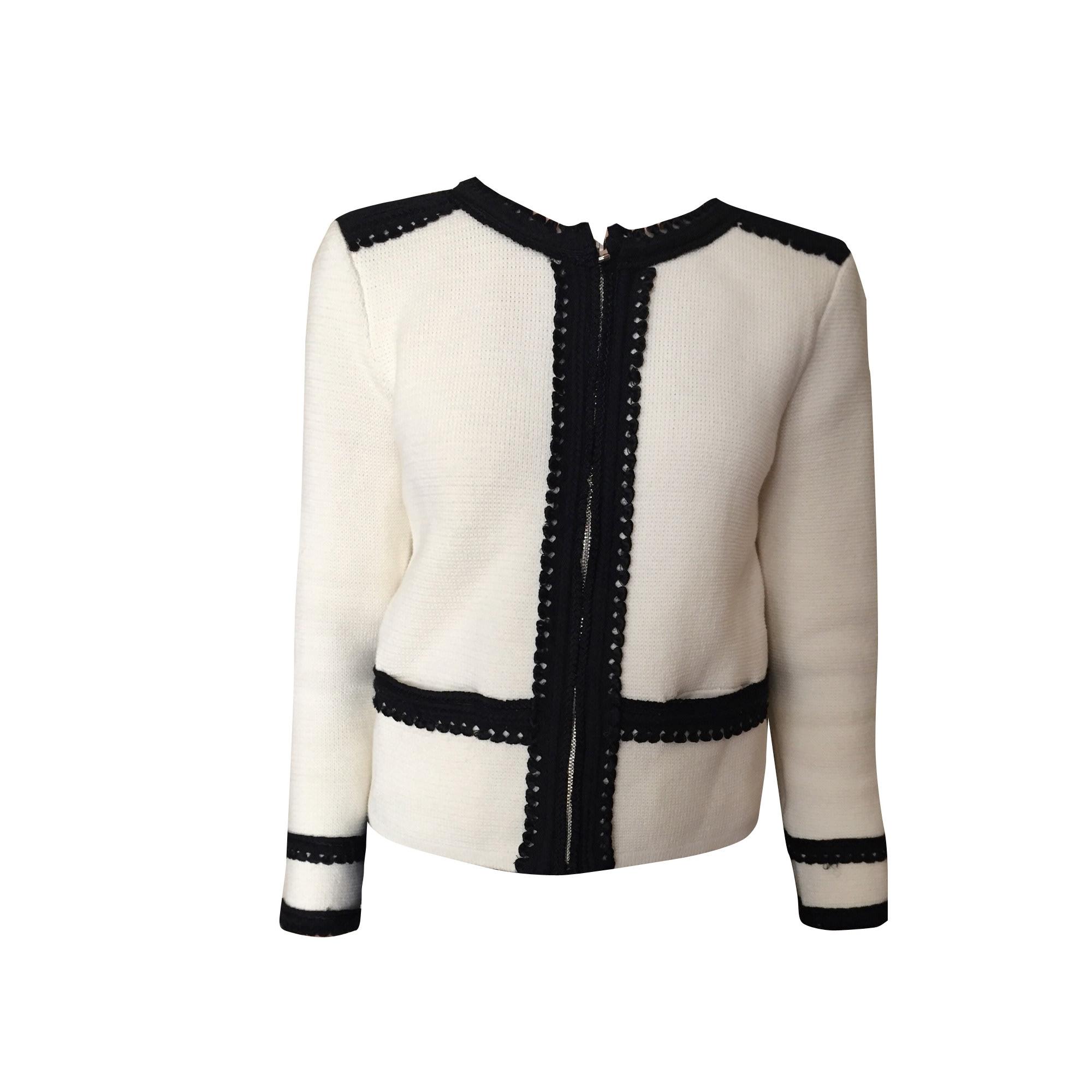 Jacket MAJE White, off-white, ecru