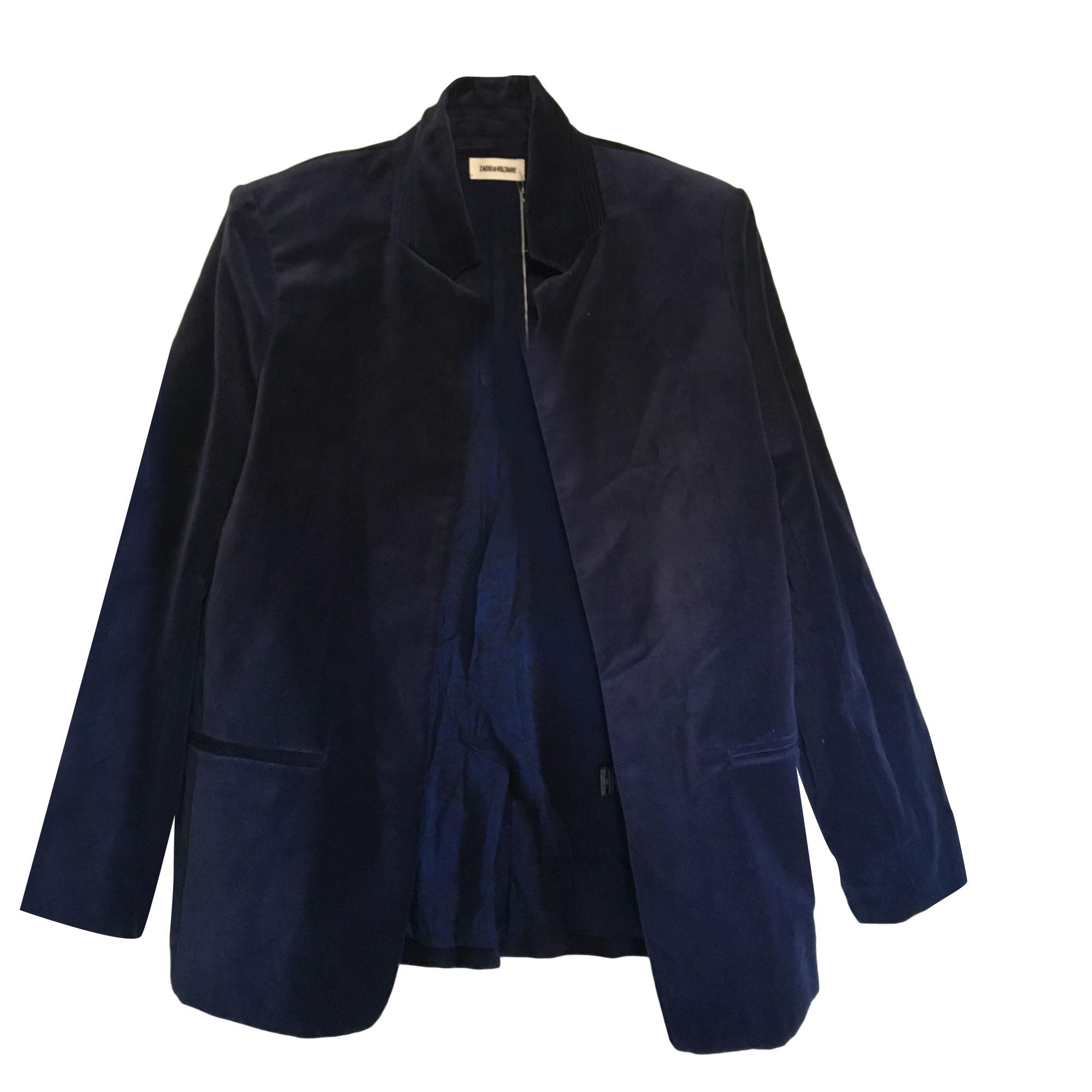 Blazer, veste tailleur ZADIG & VOLTAIRE Bleu, bleu marine, bleu turquoise