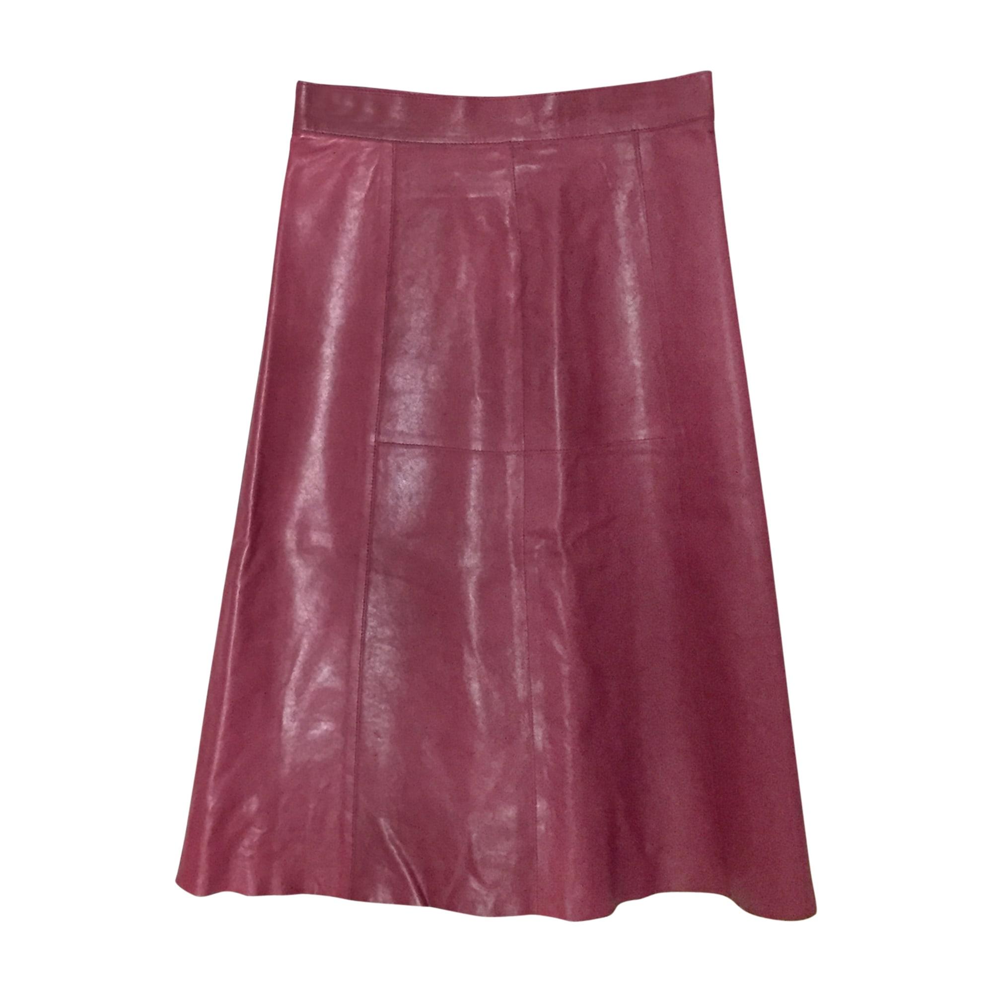 Midi Skirt VANESSA BRUNO Red, burgundy