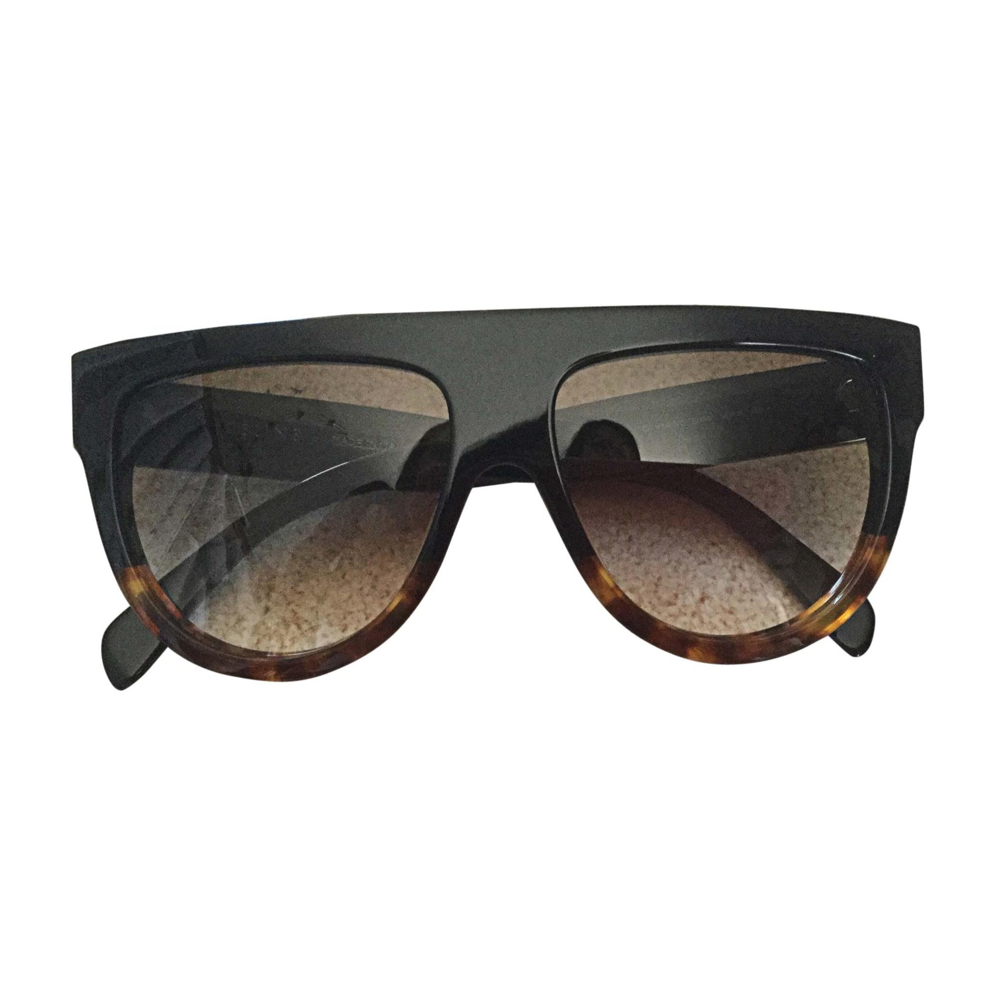 Sunglasses CÉLINE Noir et marron ecaille