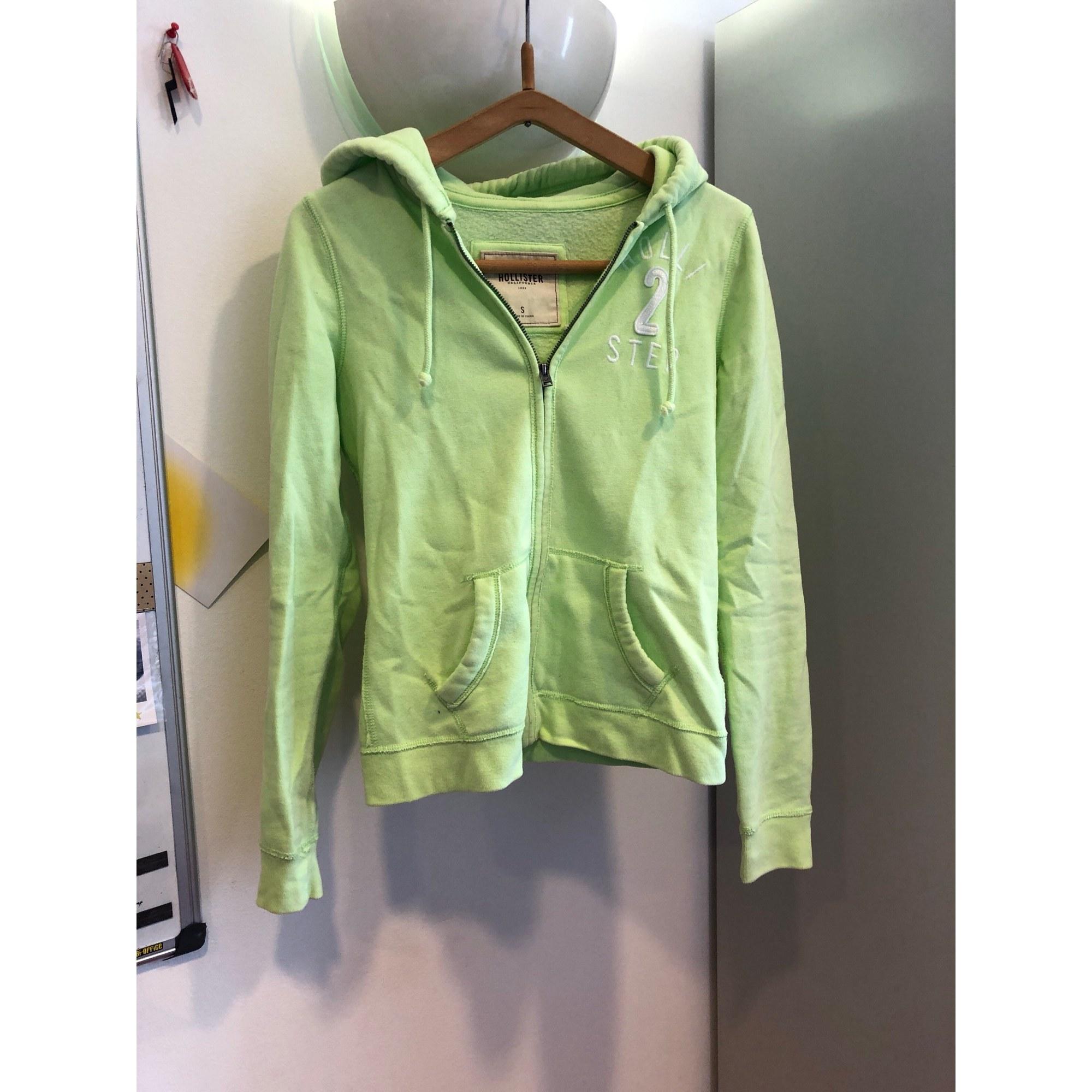 Sweat HOLLISTER Vert