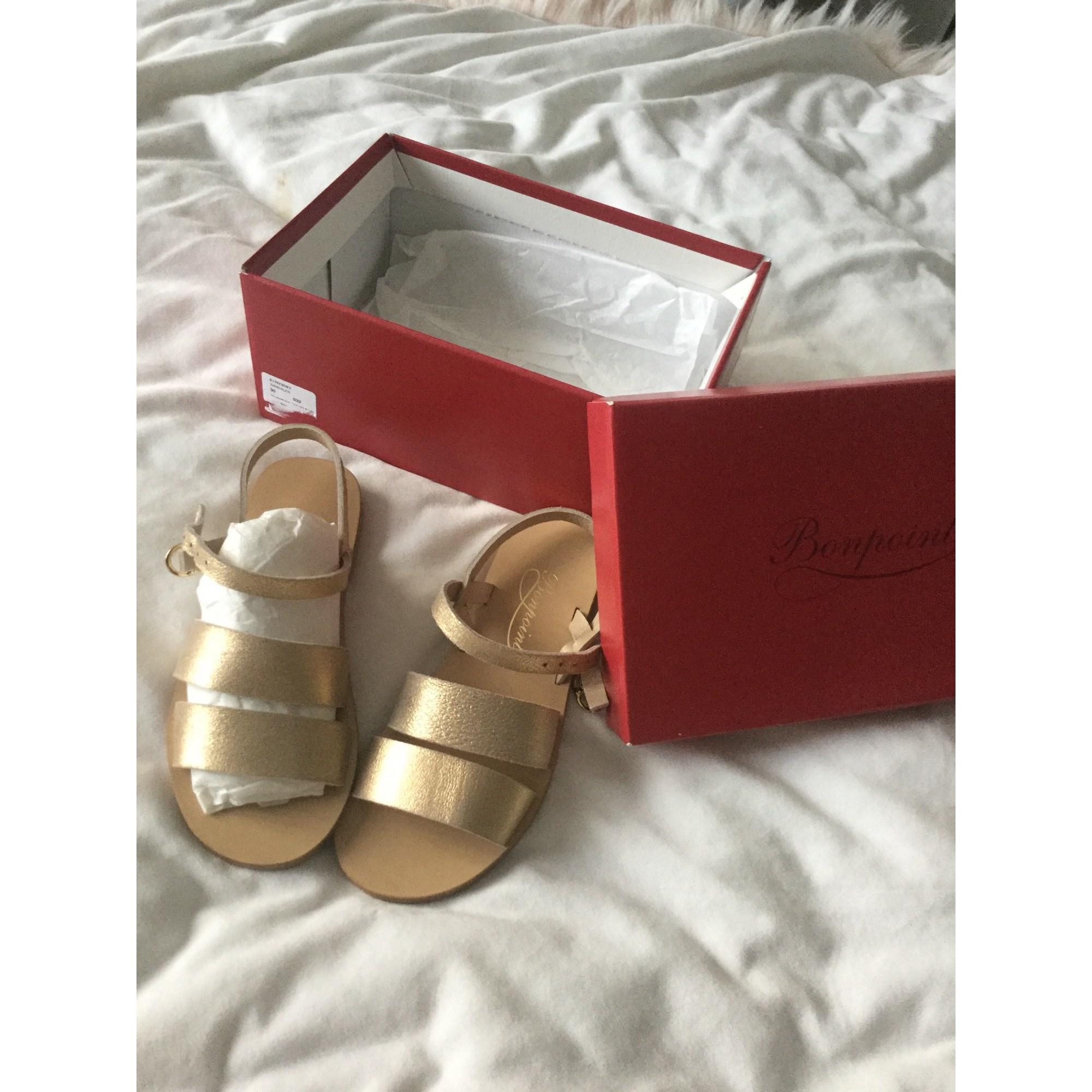 Buckle Shoes BONPOINT Golden, bronze, copper