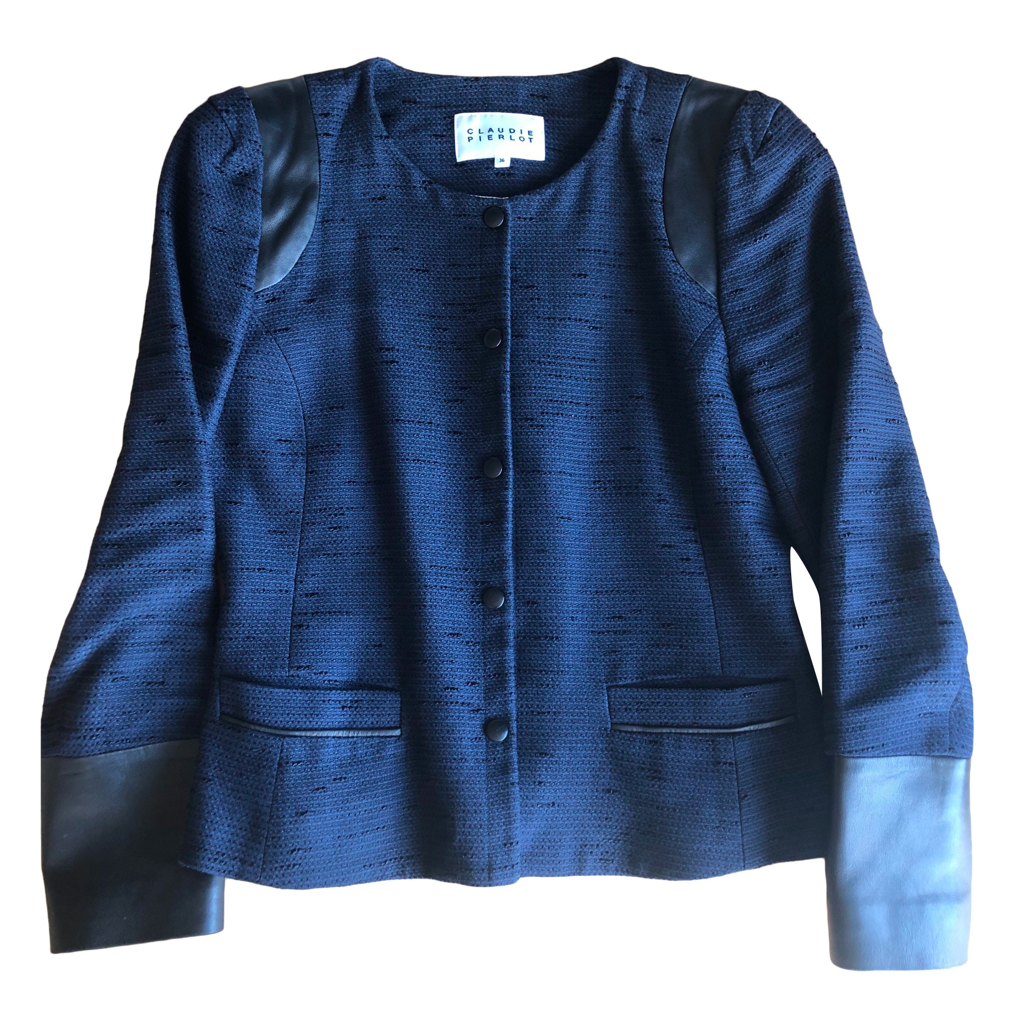 Jacket CLAUDIE PIERLOT Blue, navy, turquoise