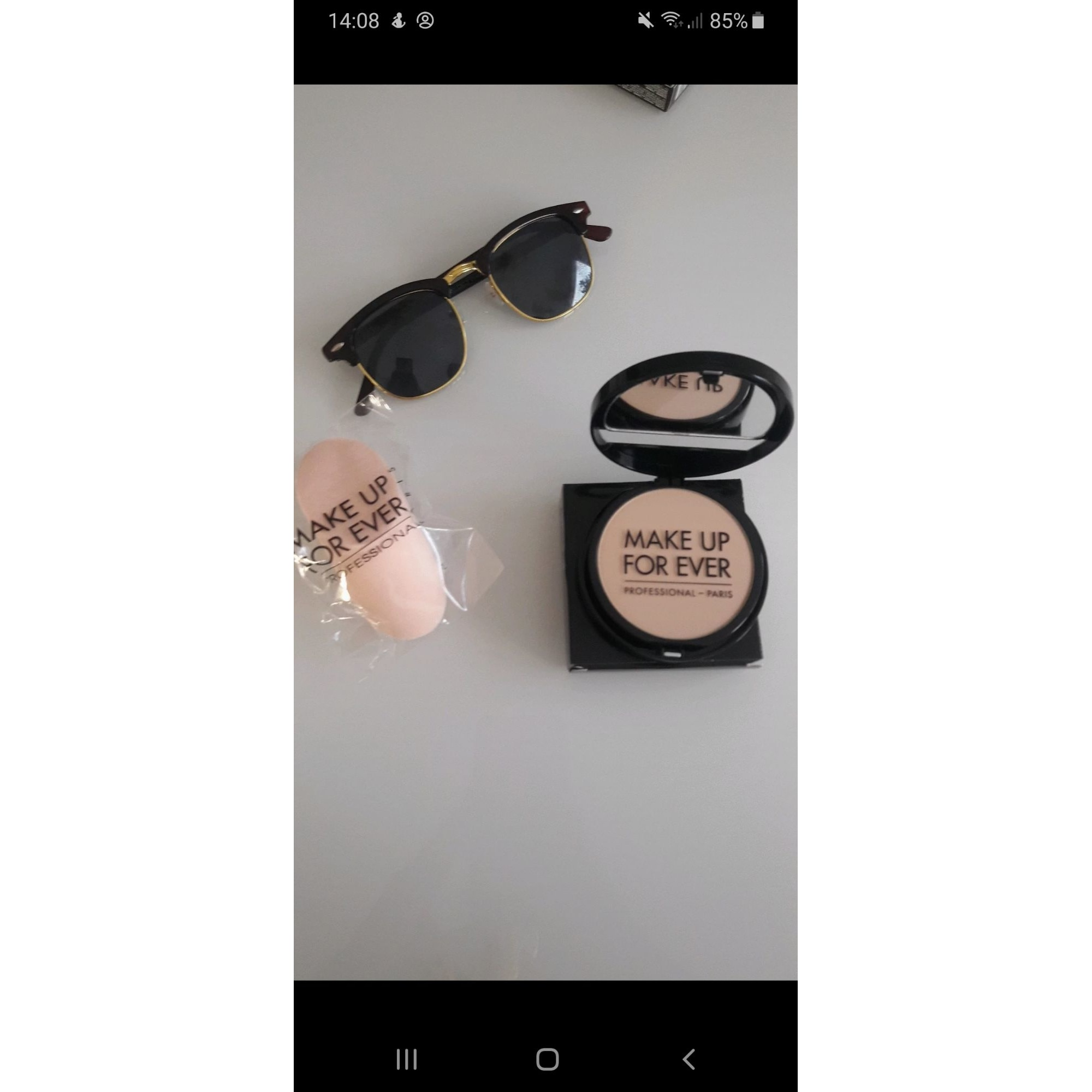 Poudre MAKE UP FOR EVER clair