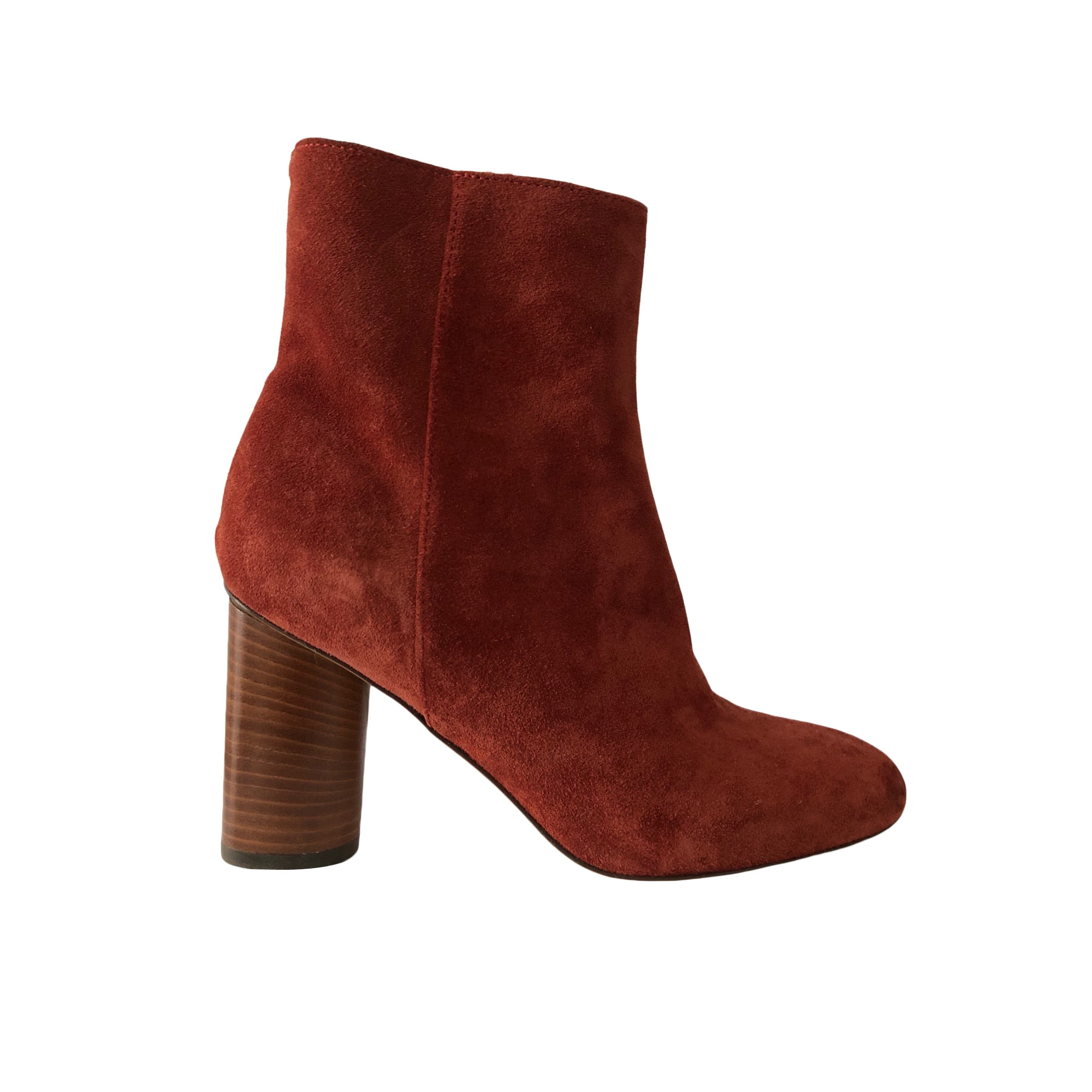Bottines & low boots à talons JEROME DREYFUSS Rouge, bordeaux