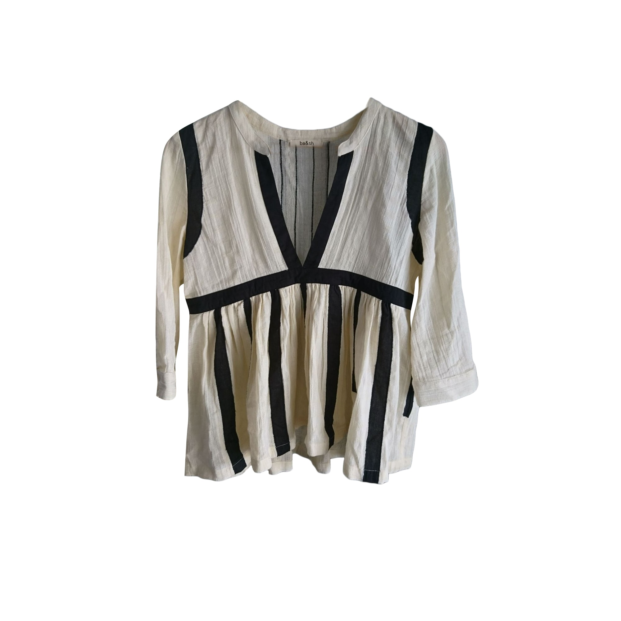 Blouse BA&SH White, off-white, ecru