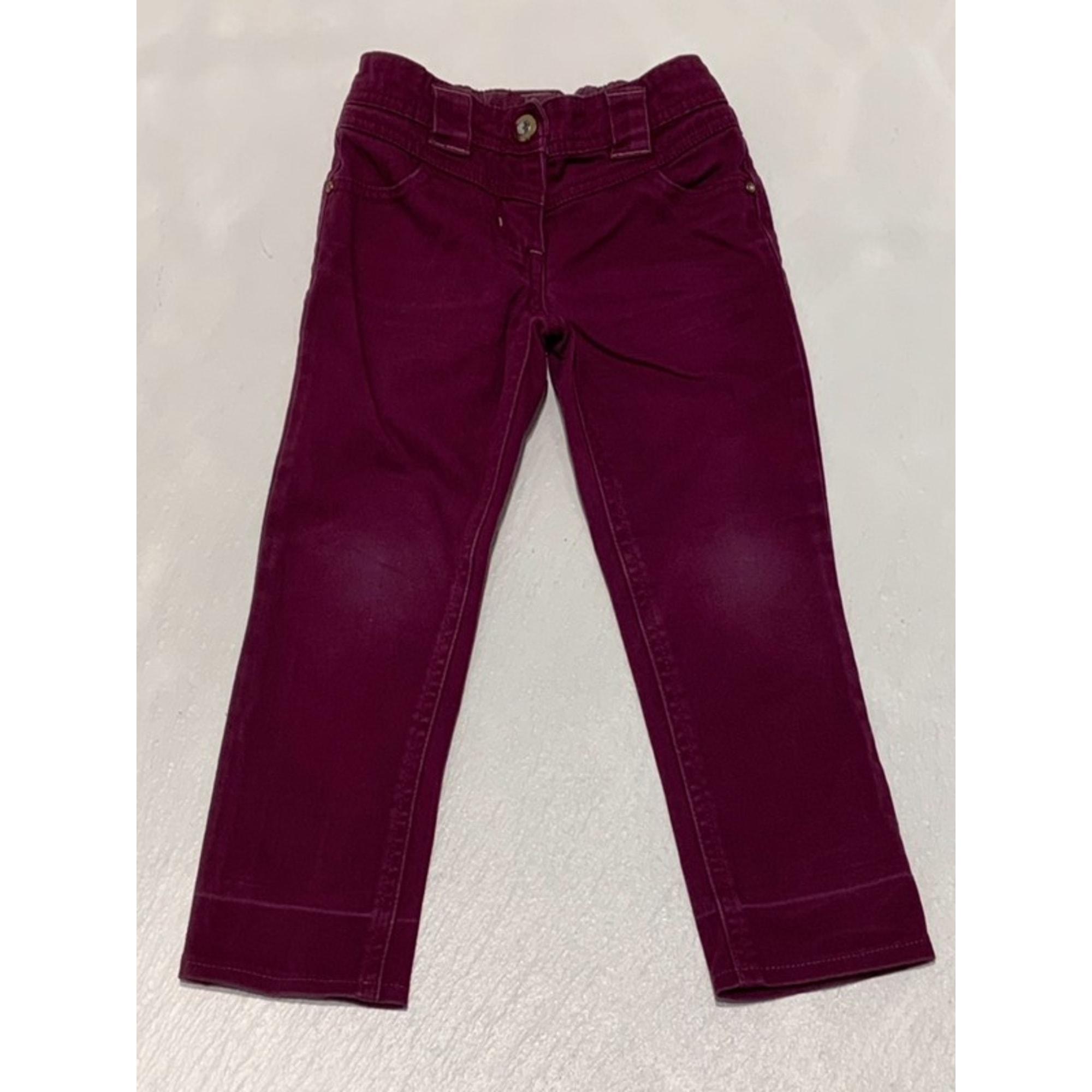 Pantalon ORCHESTRA Violet, mauve, lavande
