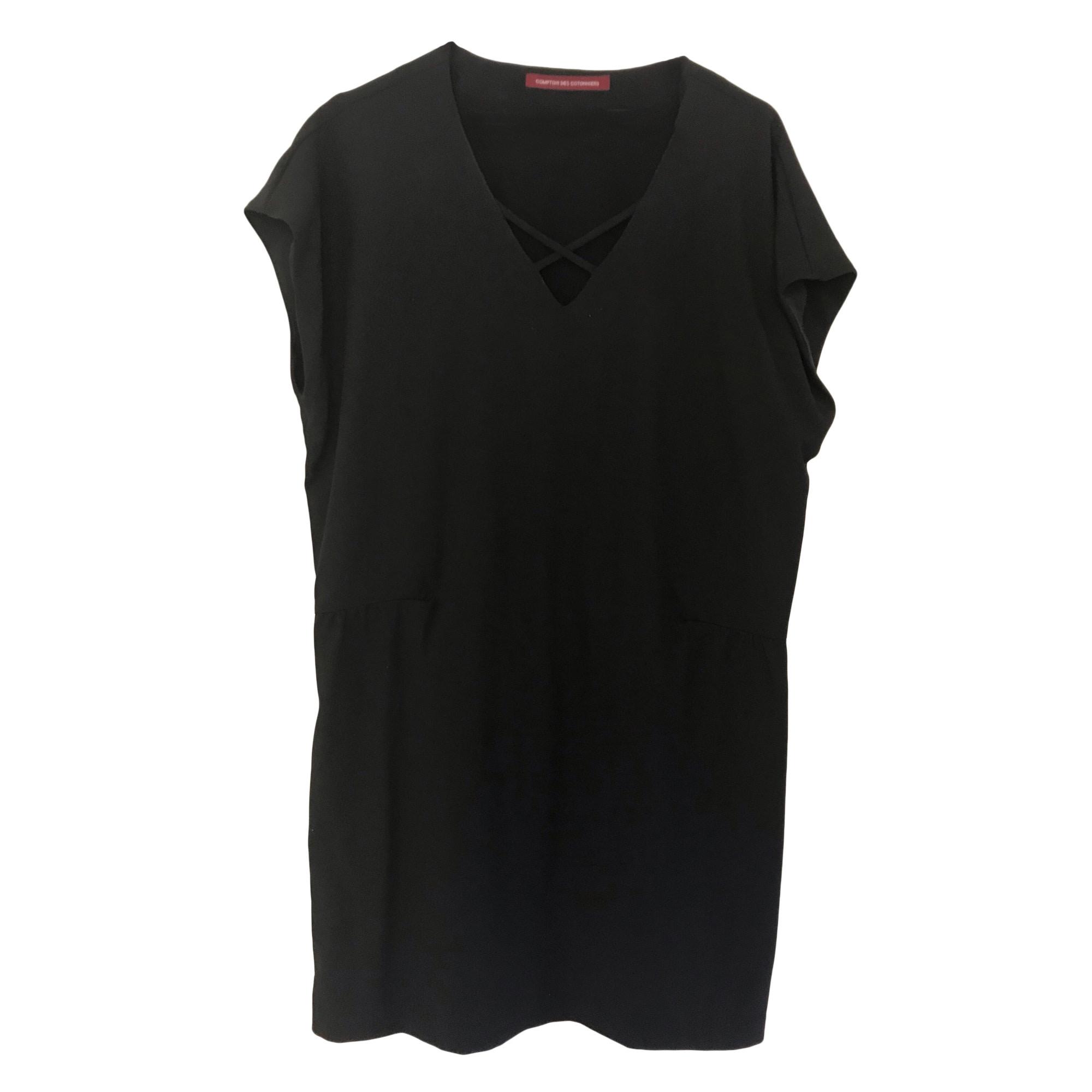 Midi Dress COMPTOIR DES COTONNIERS Black