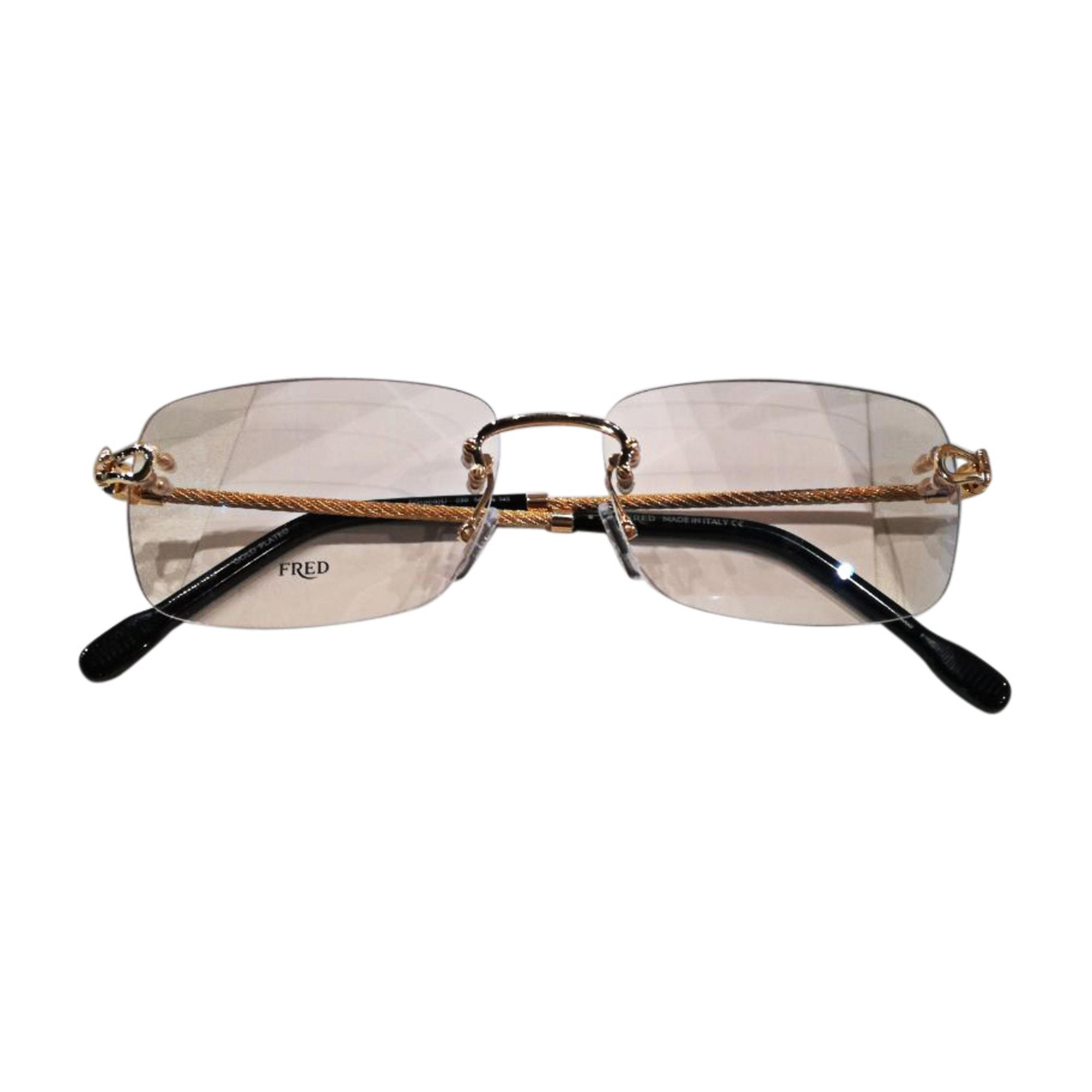 Eyeglass Frames FRED Golden, bronze, copper