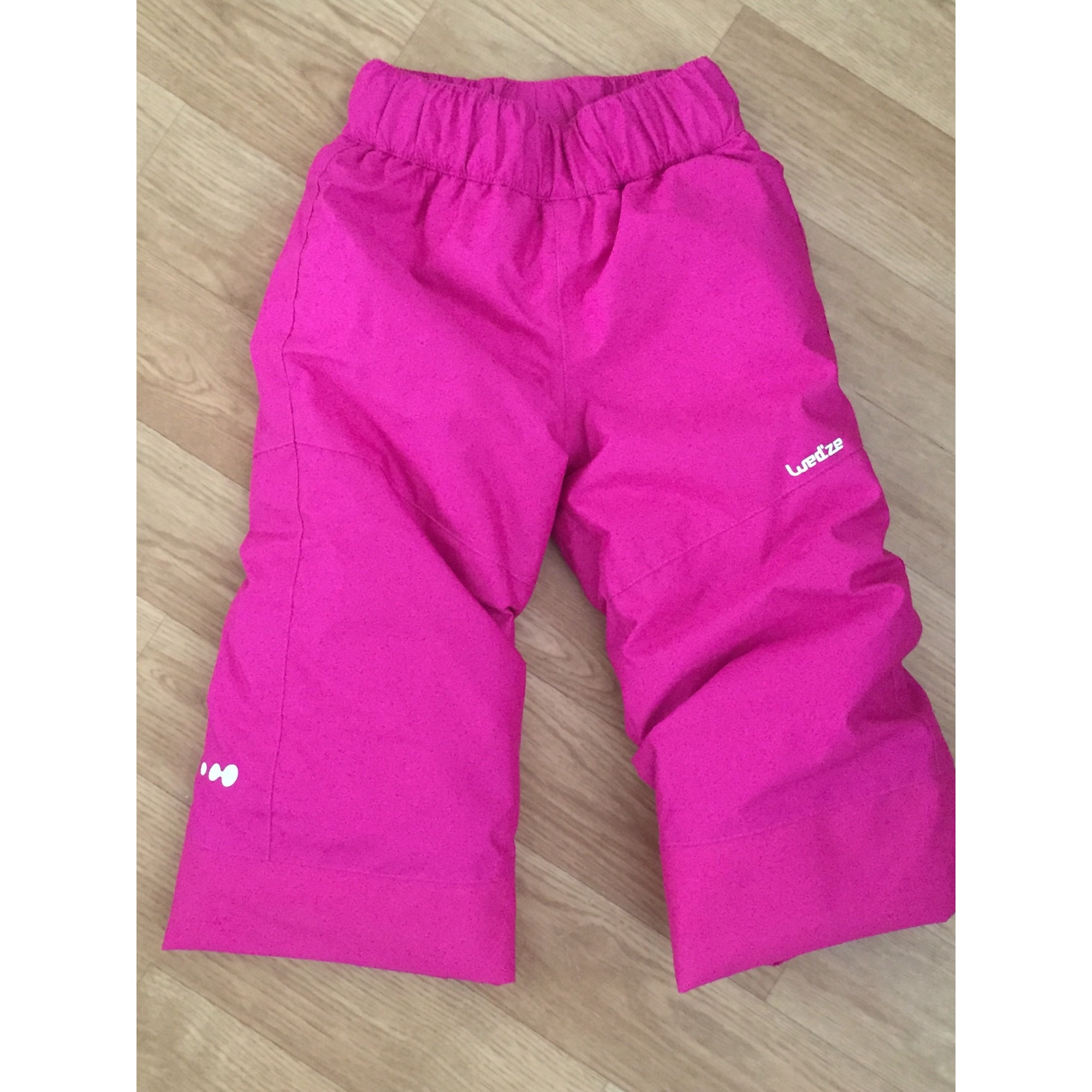 Pantalon de ski DÉCATHLON Rose, fuschia, vieux rose