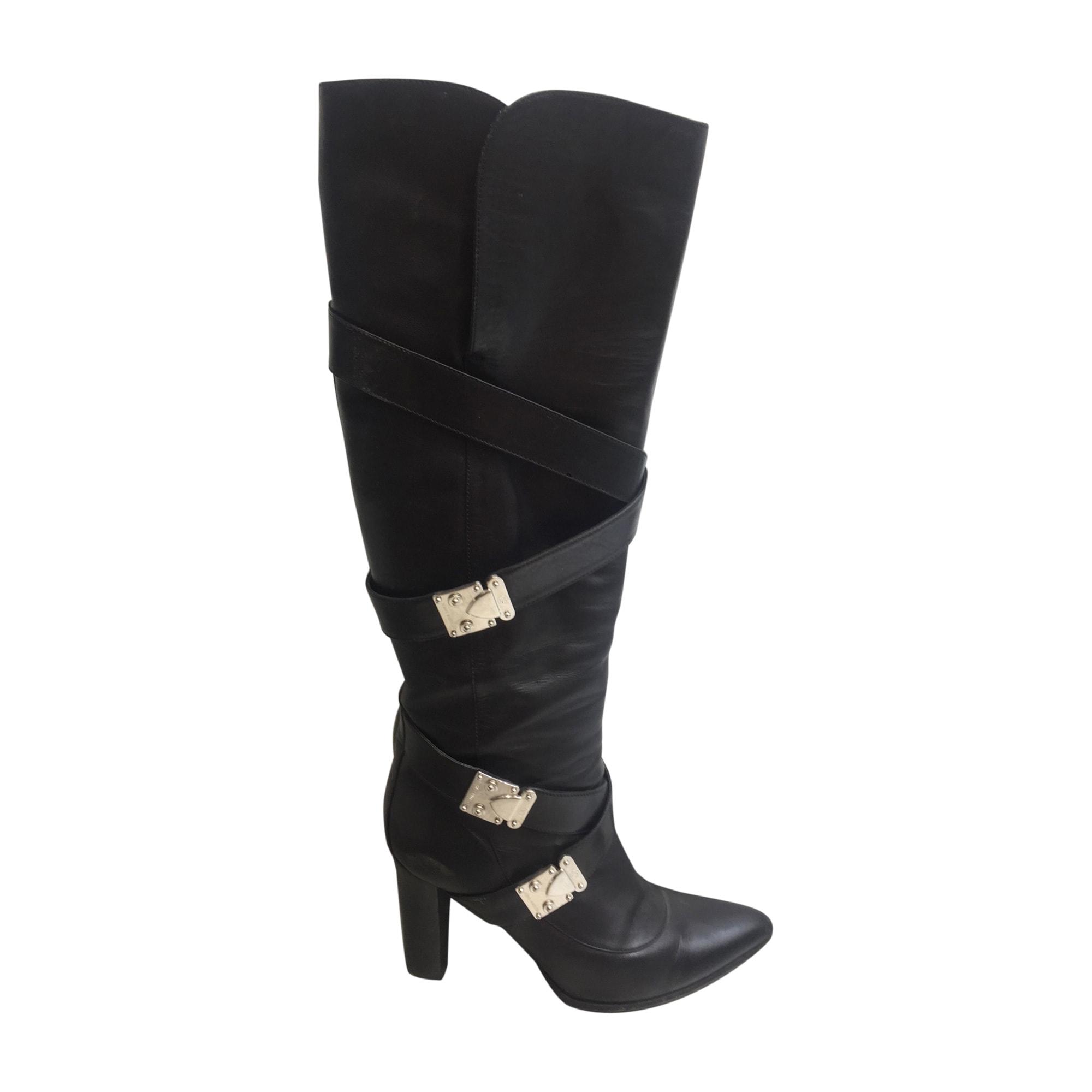 High Heel Boots LOUIS VUITTON Black