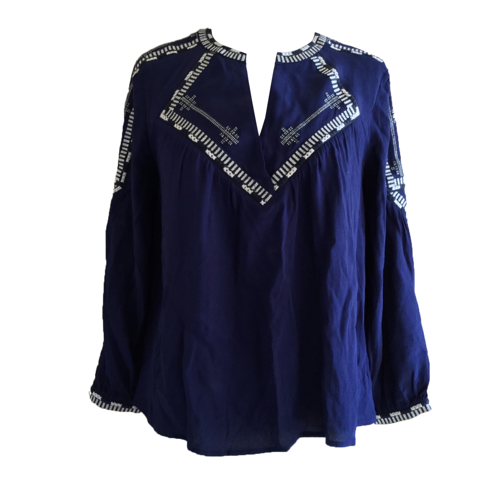 Blouse BA&SH Blue, navy, turquoise