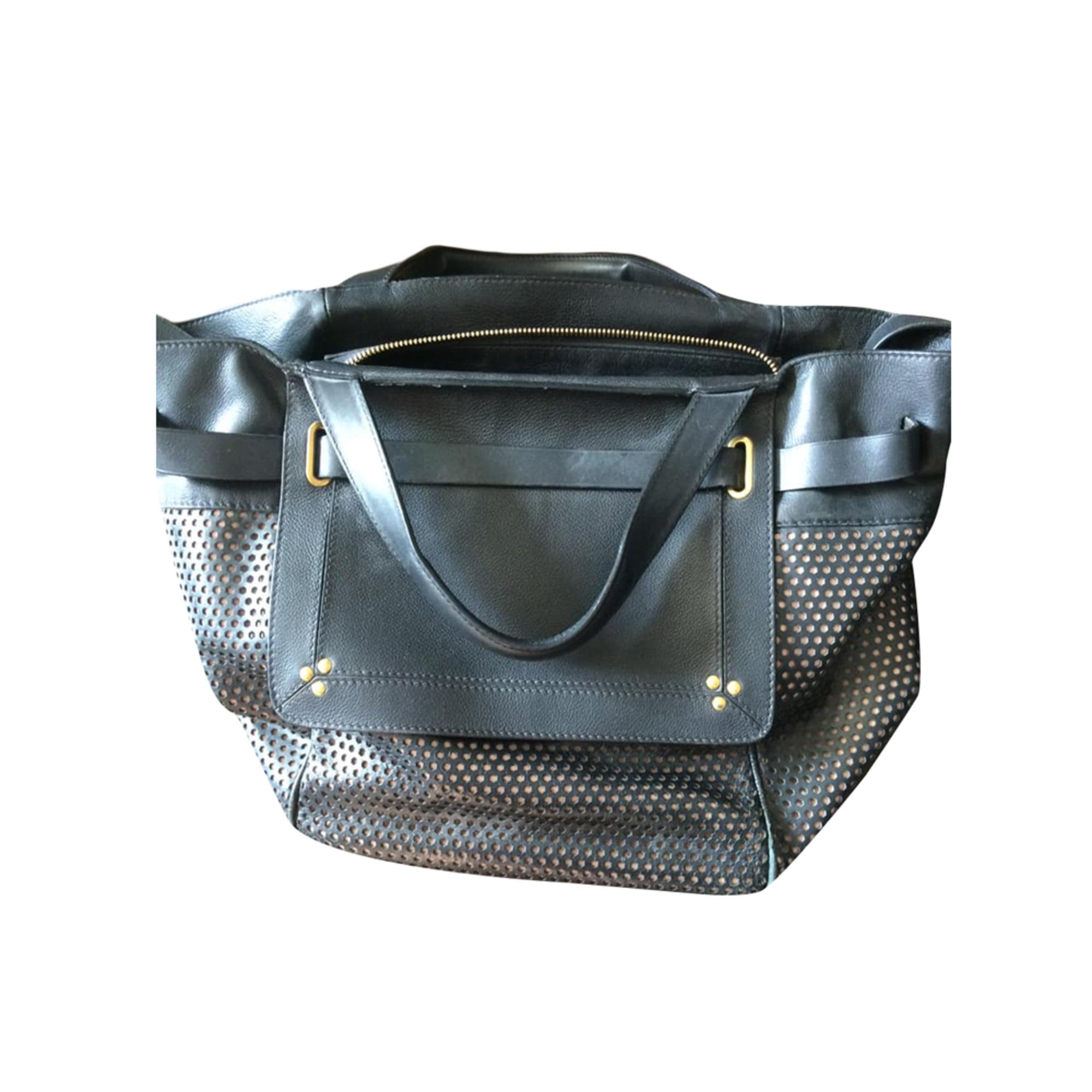 Leather Handbag JEROME DREYFUSS Black