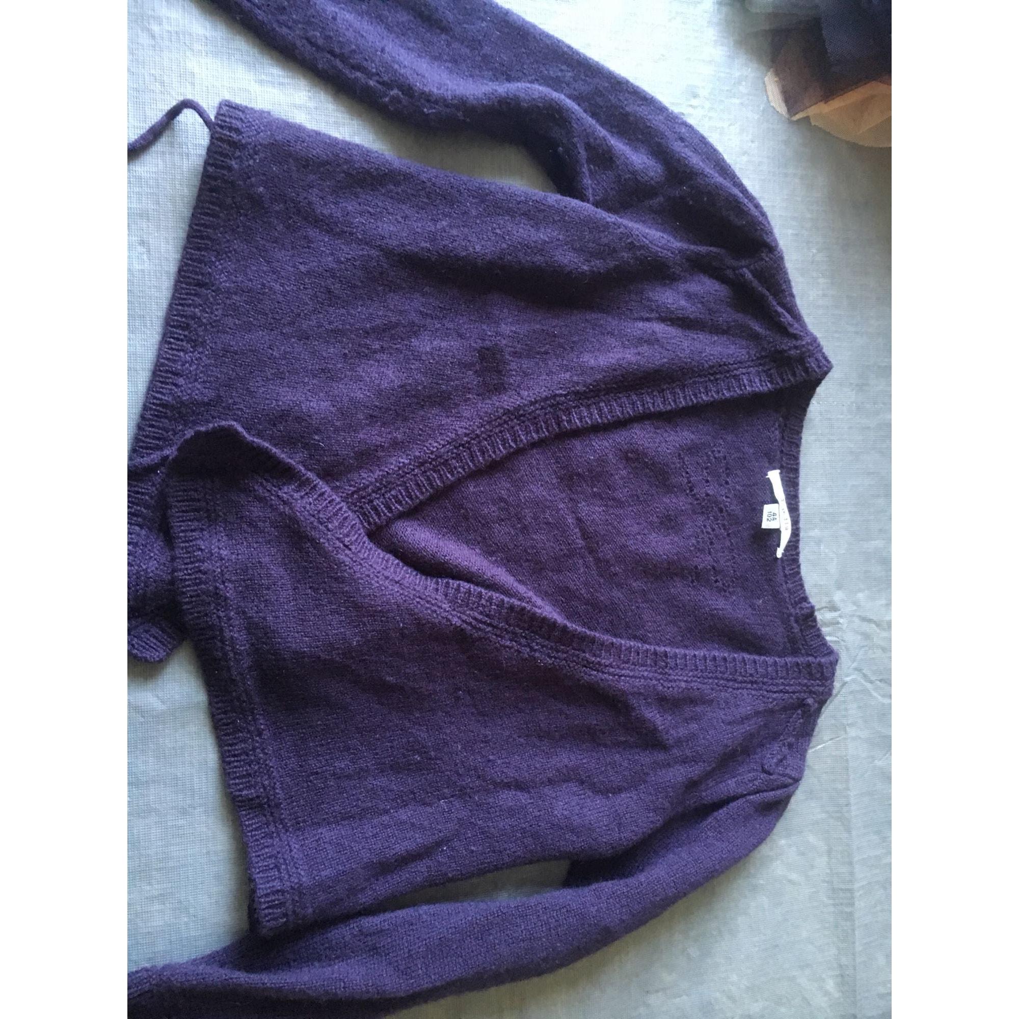 Gilet, cardigan REPETTO Violet, mauve, lavande