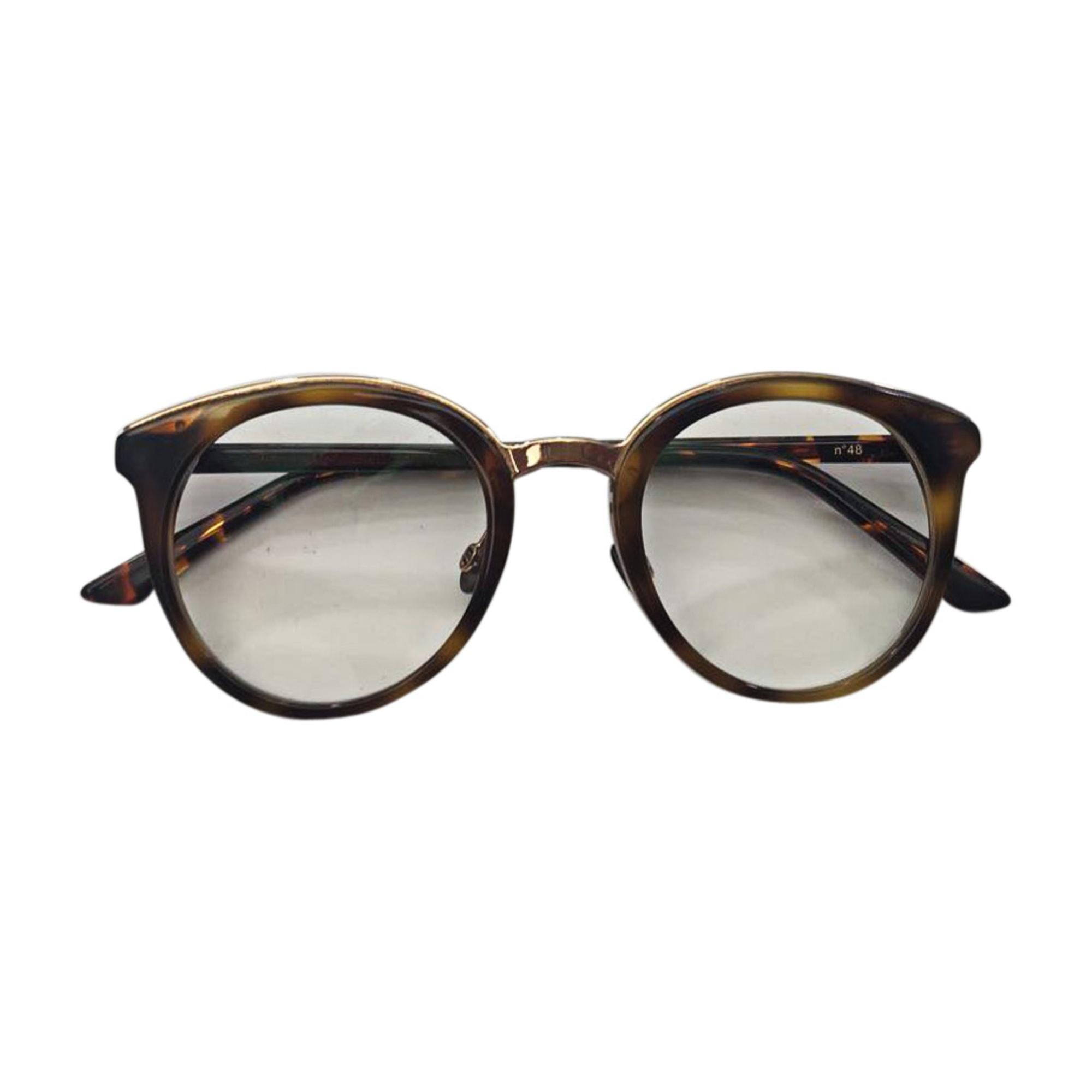 Monture de lunettes DIOR Beige, camel