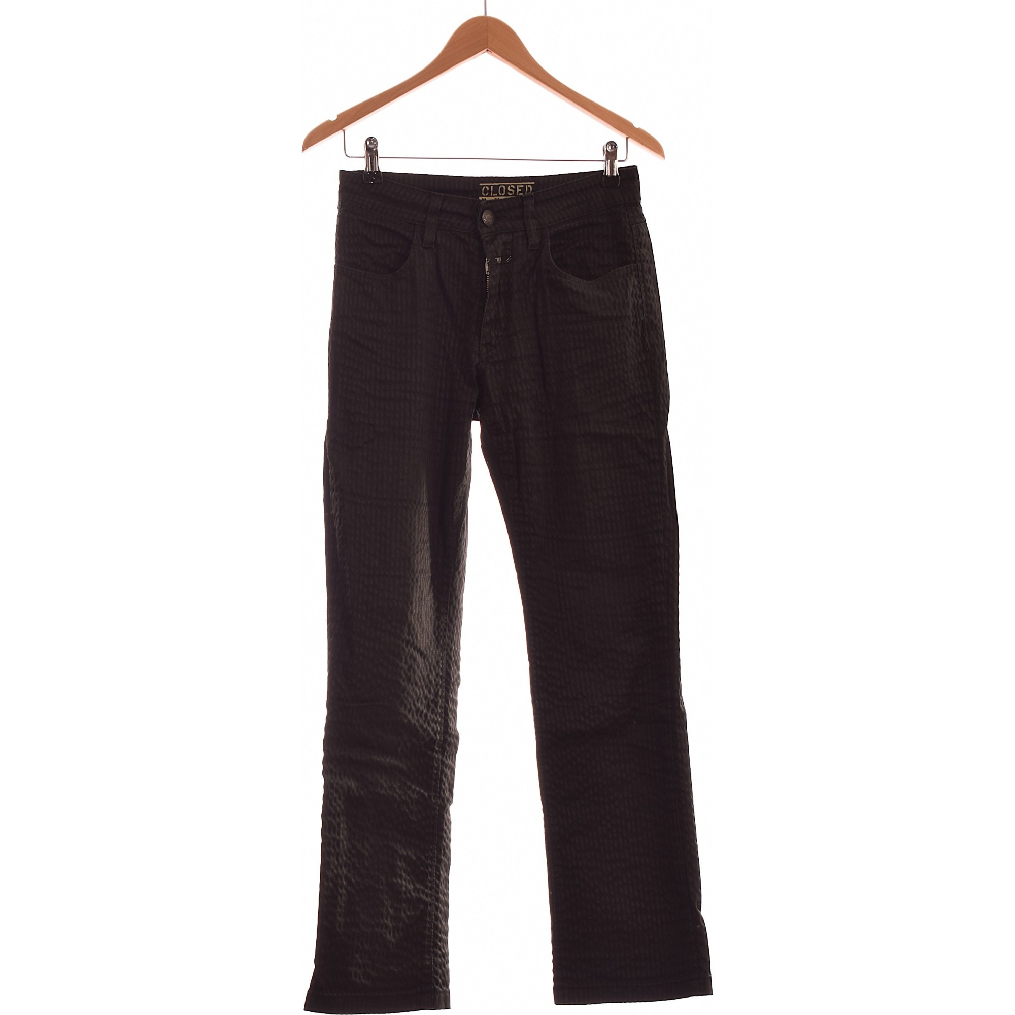 Straight-Cut Jeans  CLOSED Schwarz