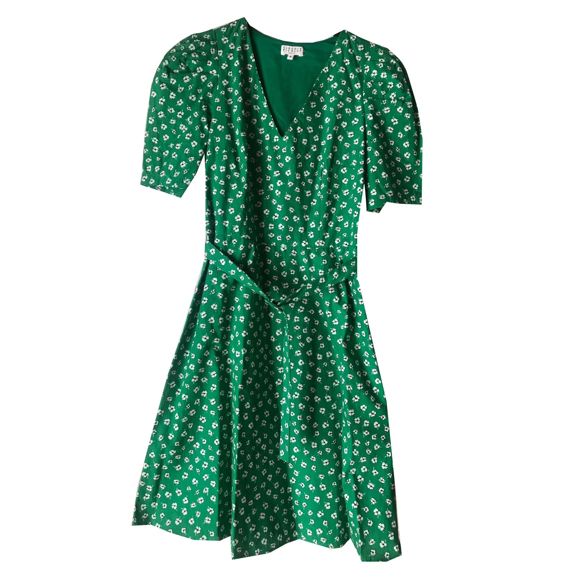 Mini Dress CLAUDIE PIERLOT Green