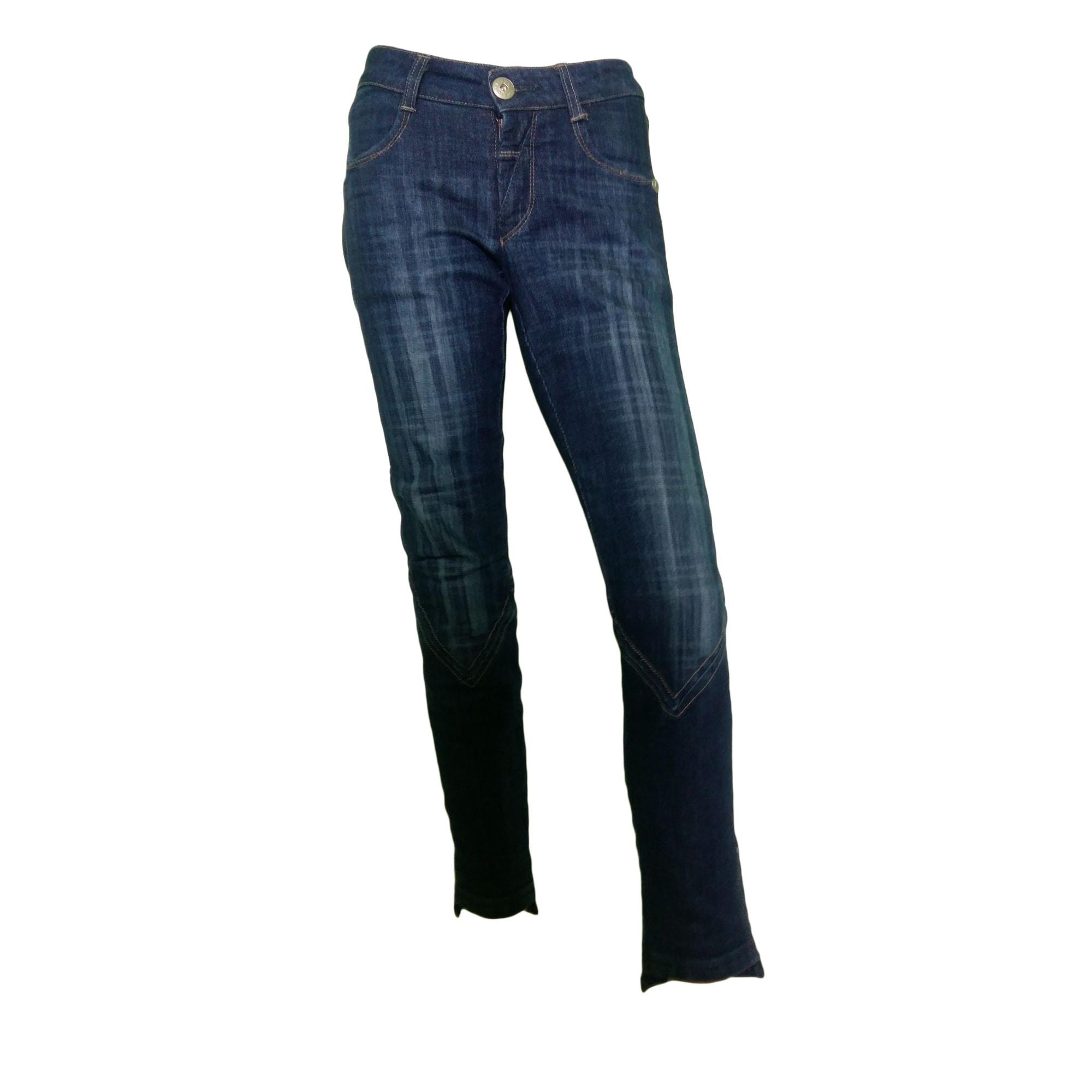 Jeans dritto MARITHÉ ET FRANÇOIS GIRBAUD Blu, blu navy, turchese