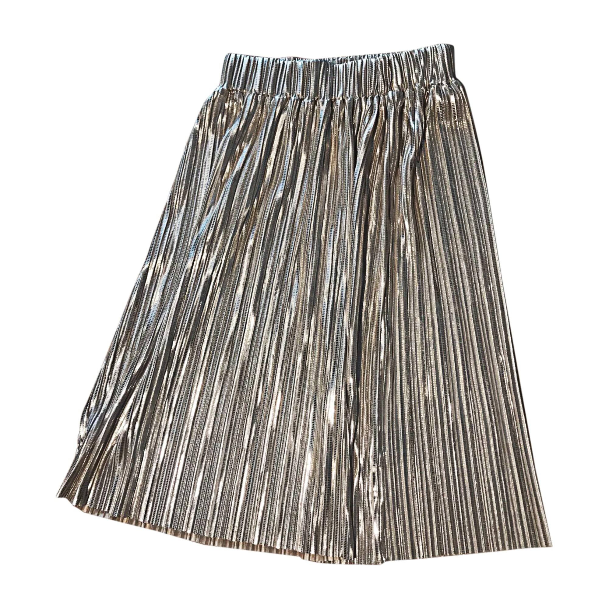 Jupe mi-longue ISABEL MARANT Doré, bronze, cuivre