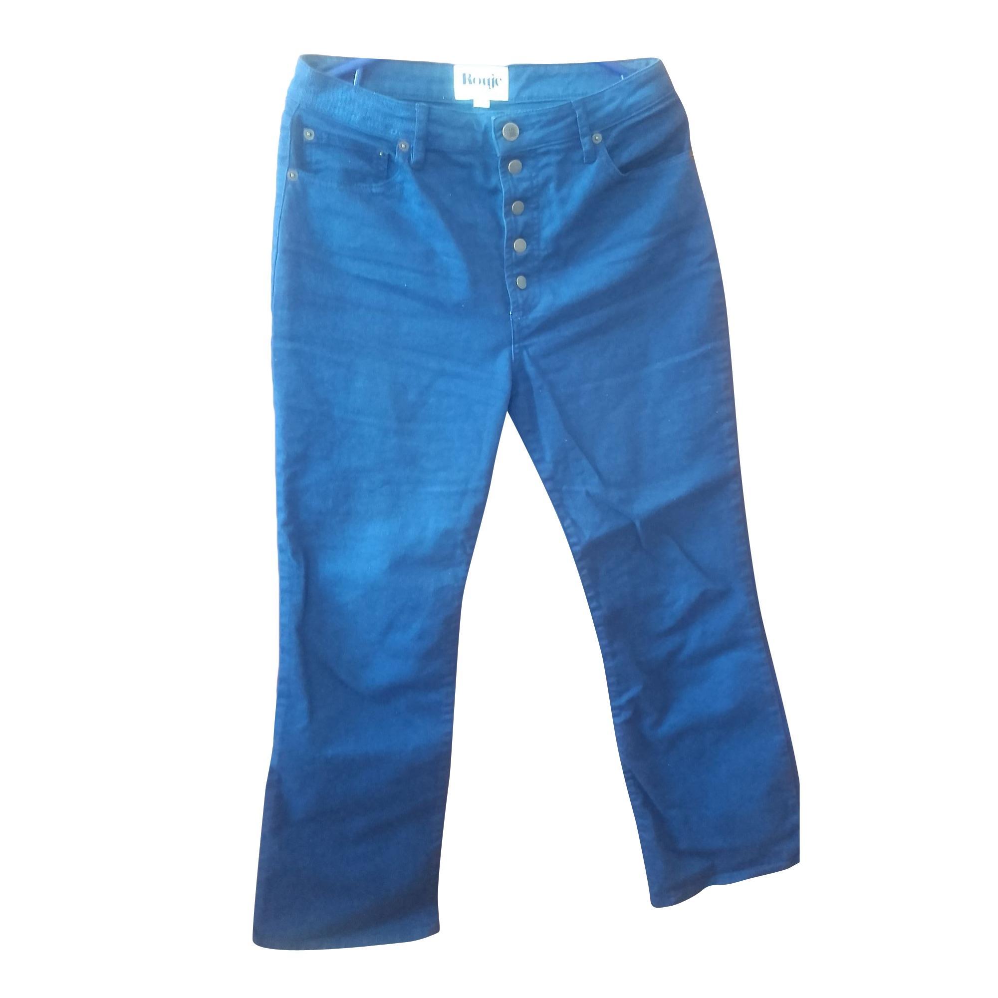 Jeans évasé, boot-cut ROUJE Bleu, bleu marine, bleu turquoise