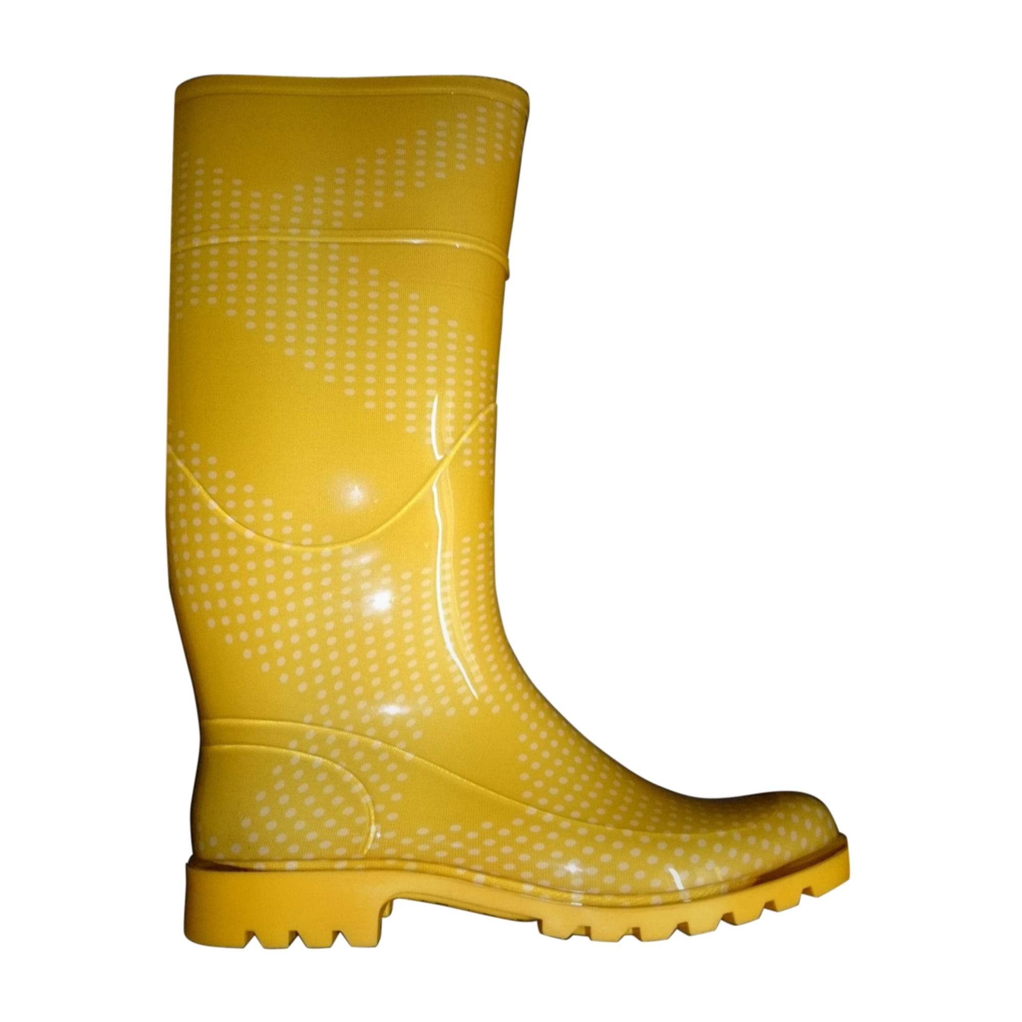 Rain Boots BURBERRY Yellow