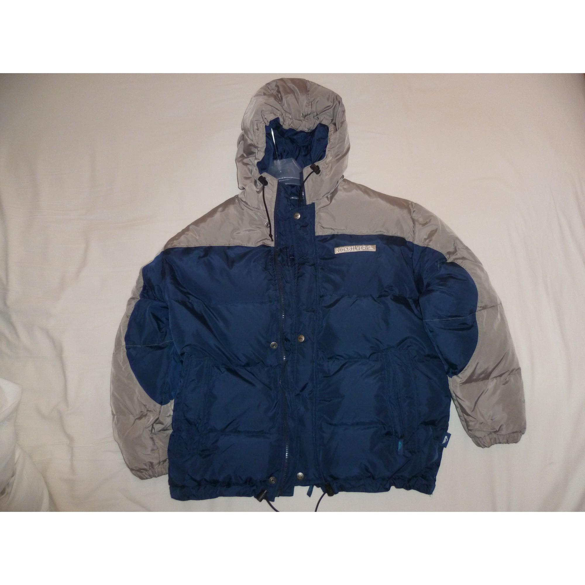 58c7ee45fd75 Doudoune QUIKSILVER 13-14 ans bariolé gris bleu marine vendu par ...