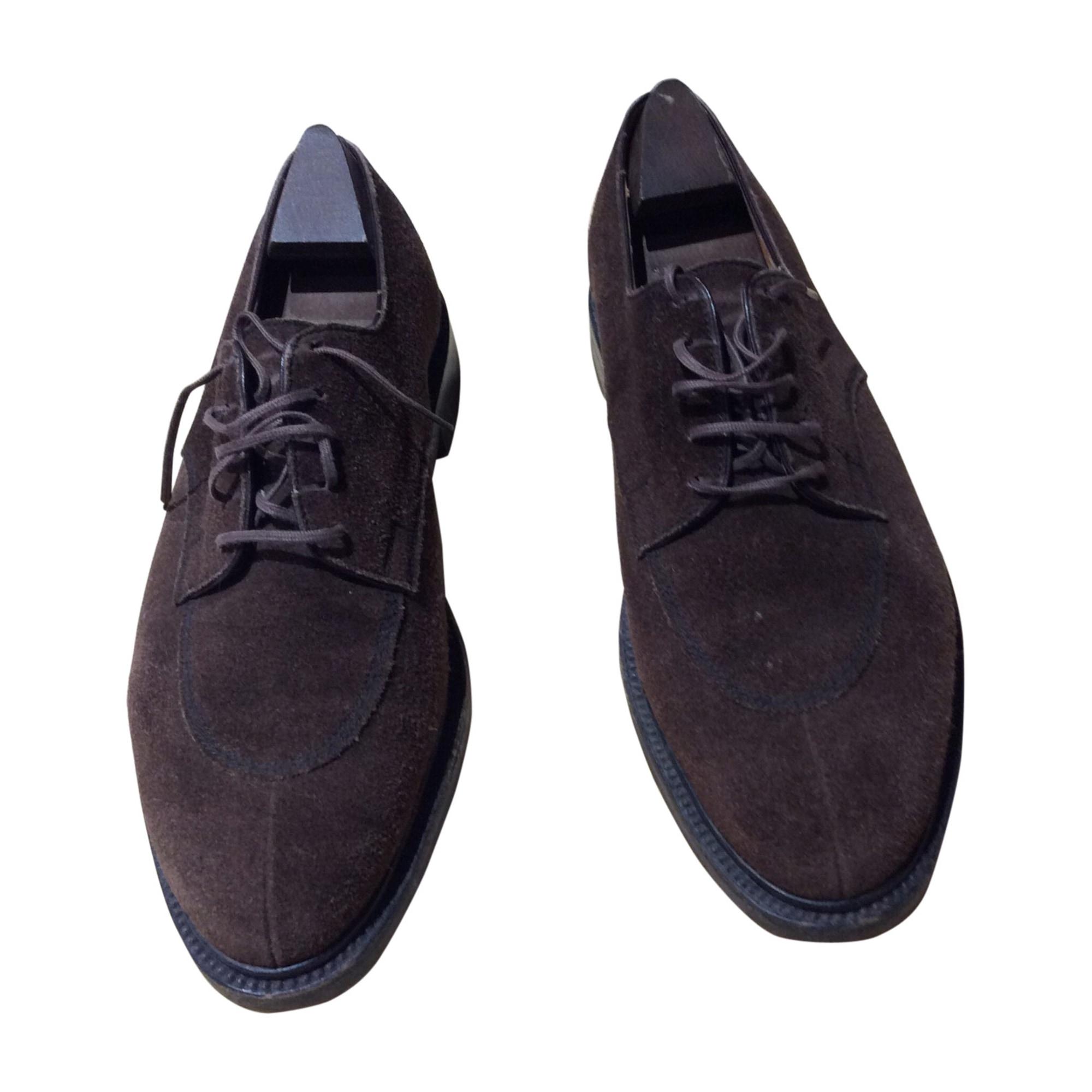 Chaussures à lacets JM WESTON Marron