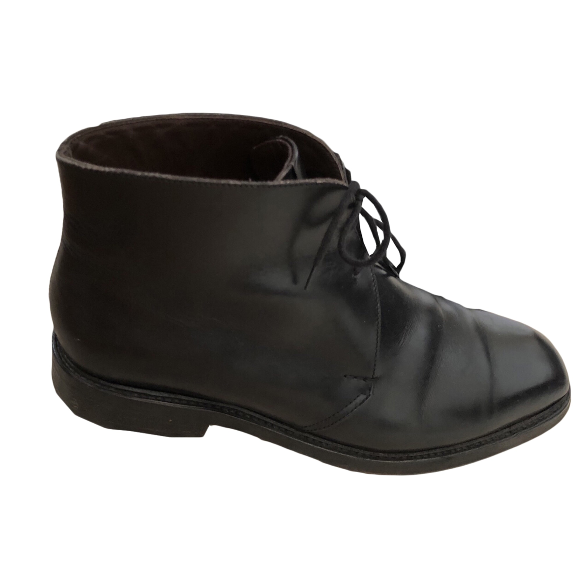 Lace Up Shoes HESCHUNG Black