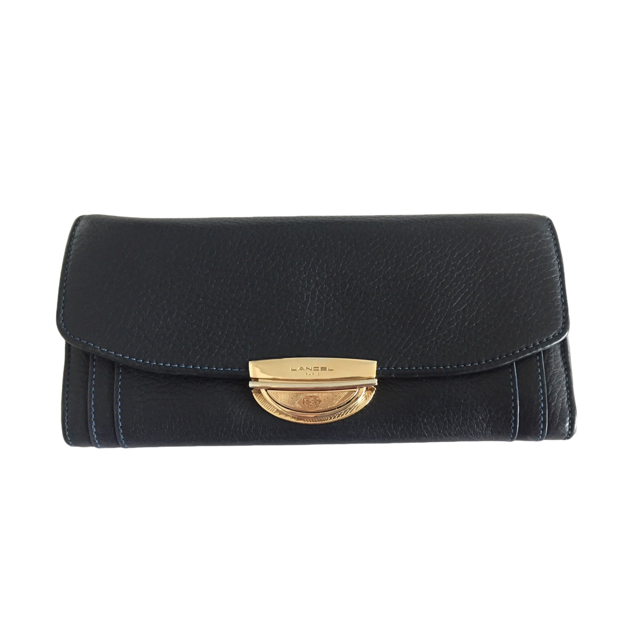 Wallet LANCEL Blue, navy, turquoise