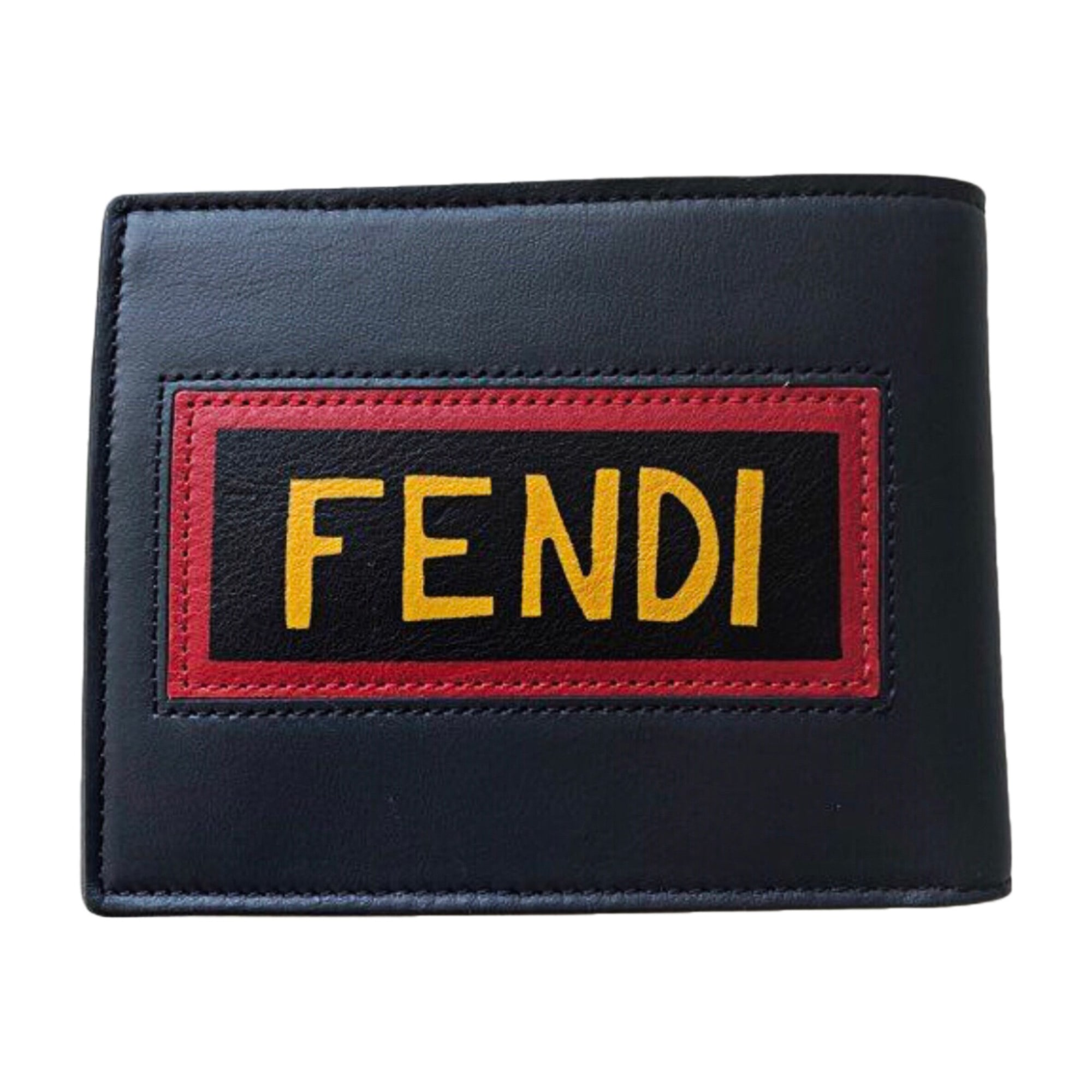 Coin Purse FENDI Blue, navy, turquoise