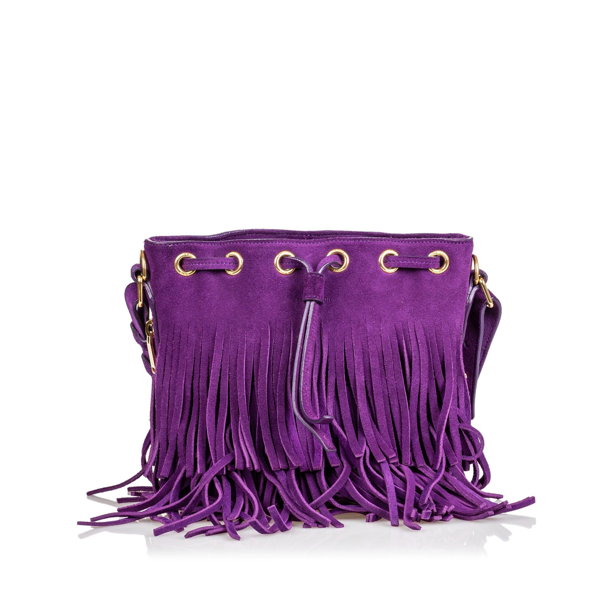 Sac à dos YVES SAINT LAURENT Purple